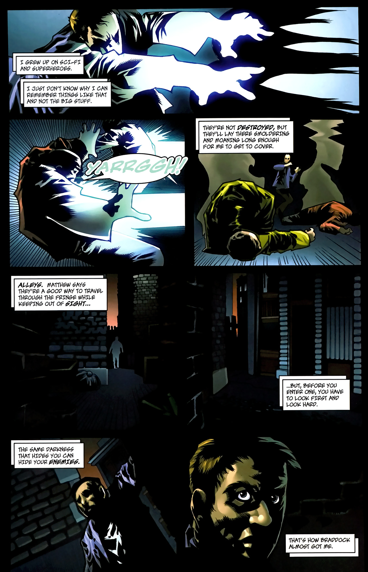 Read online The Grim Ghost comic -  Issue #1 - 9