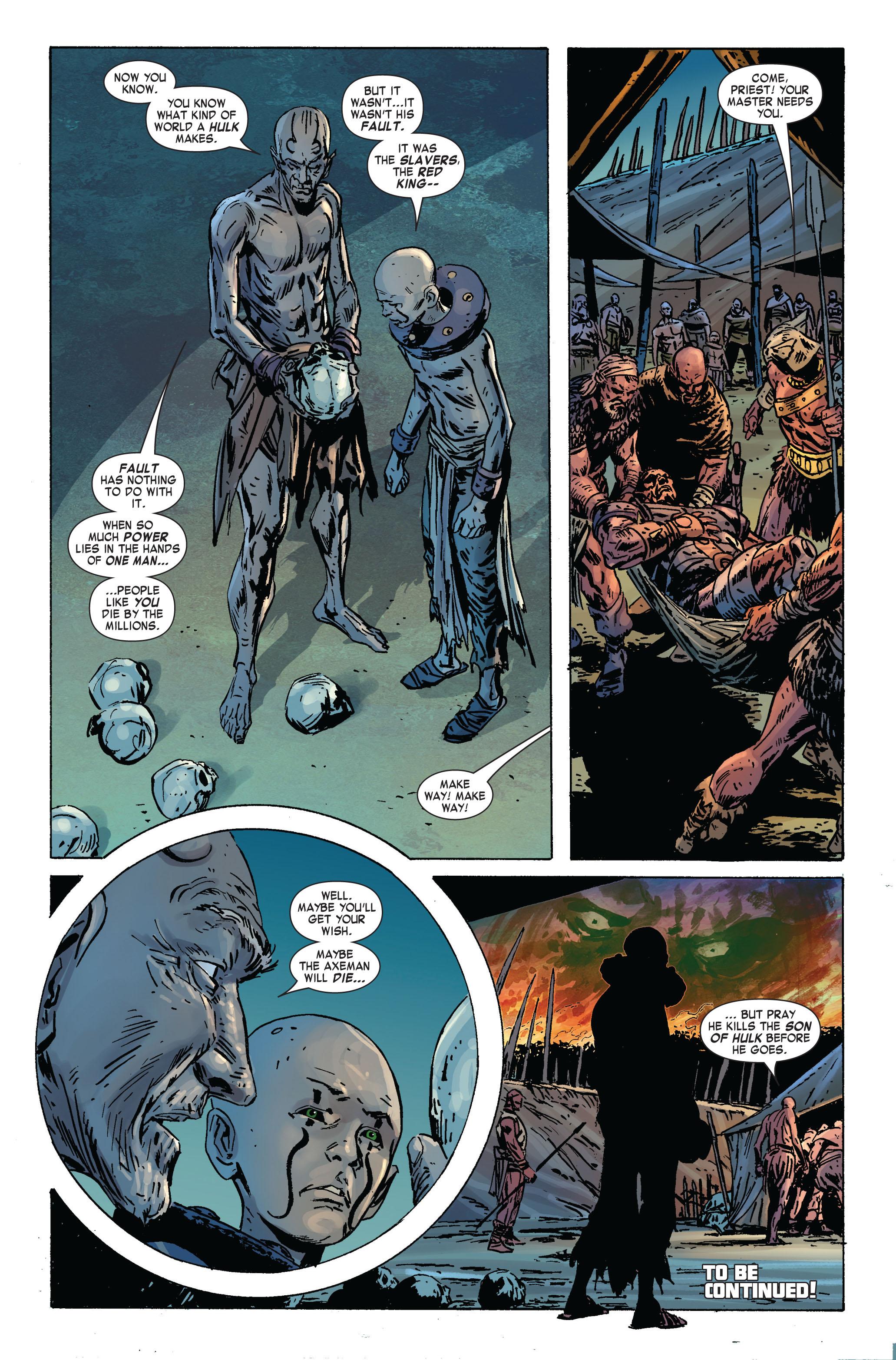 Read online Skaar: Son of Hulk comic -  Issue #2 - 25