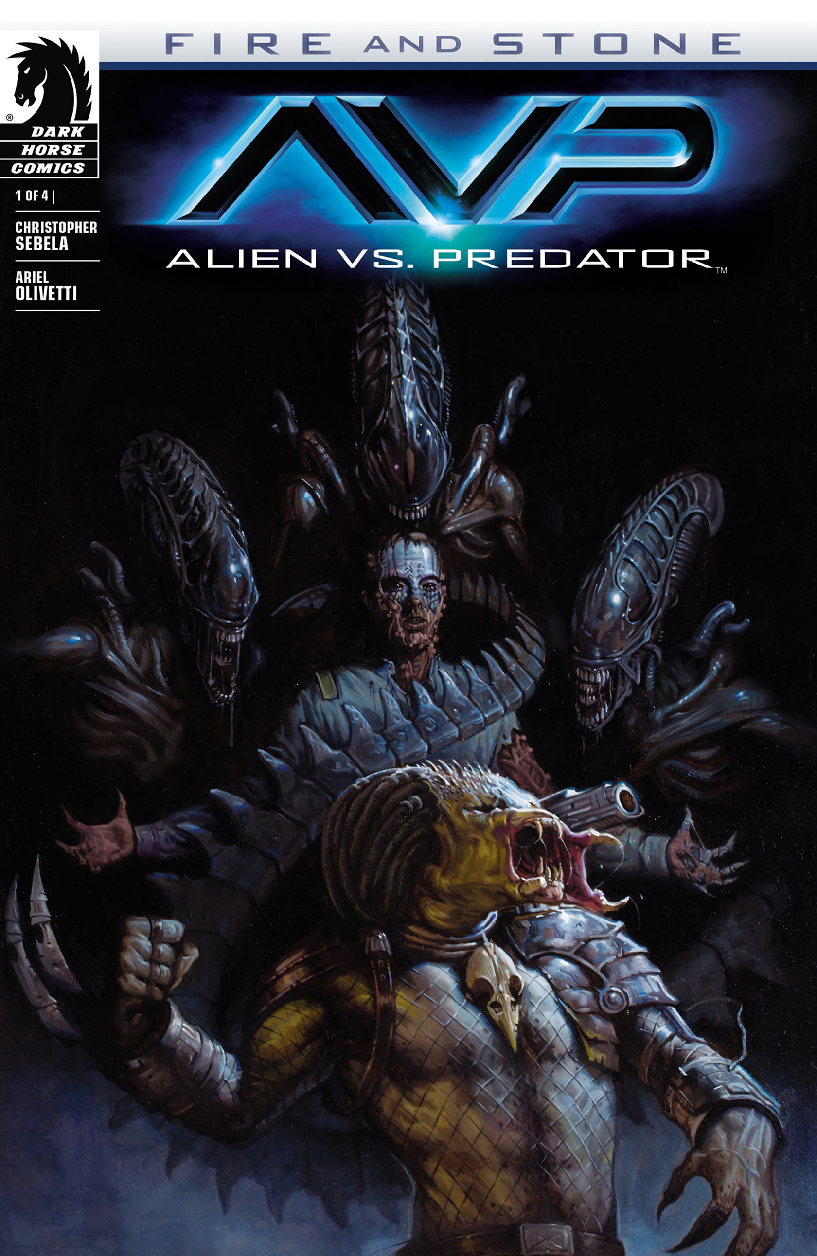 Read online Alien vs. Predator: Fire and Stone comic -  Issue #1 - 1