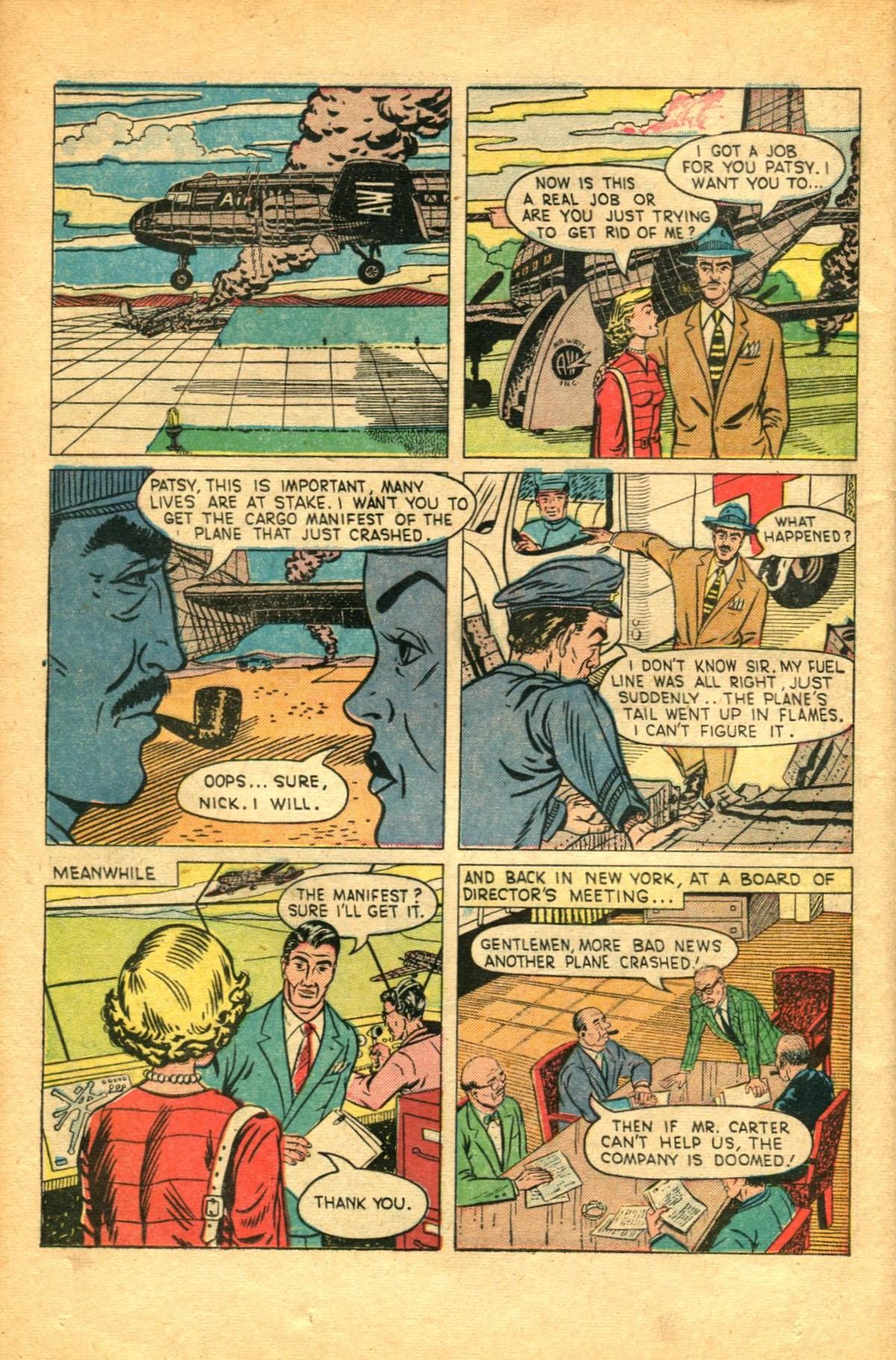 Read online Shadow Comics comic -  Issue #91 - 34