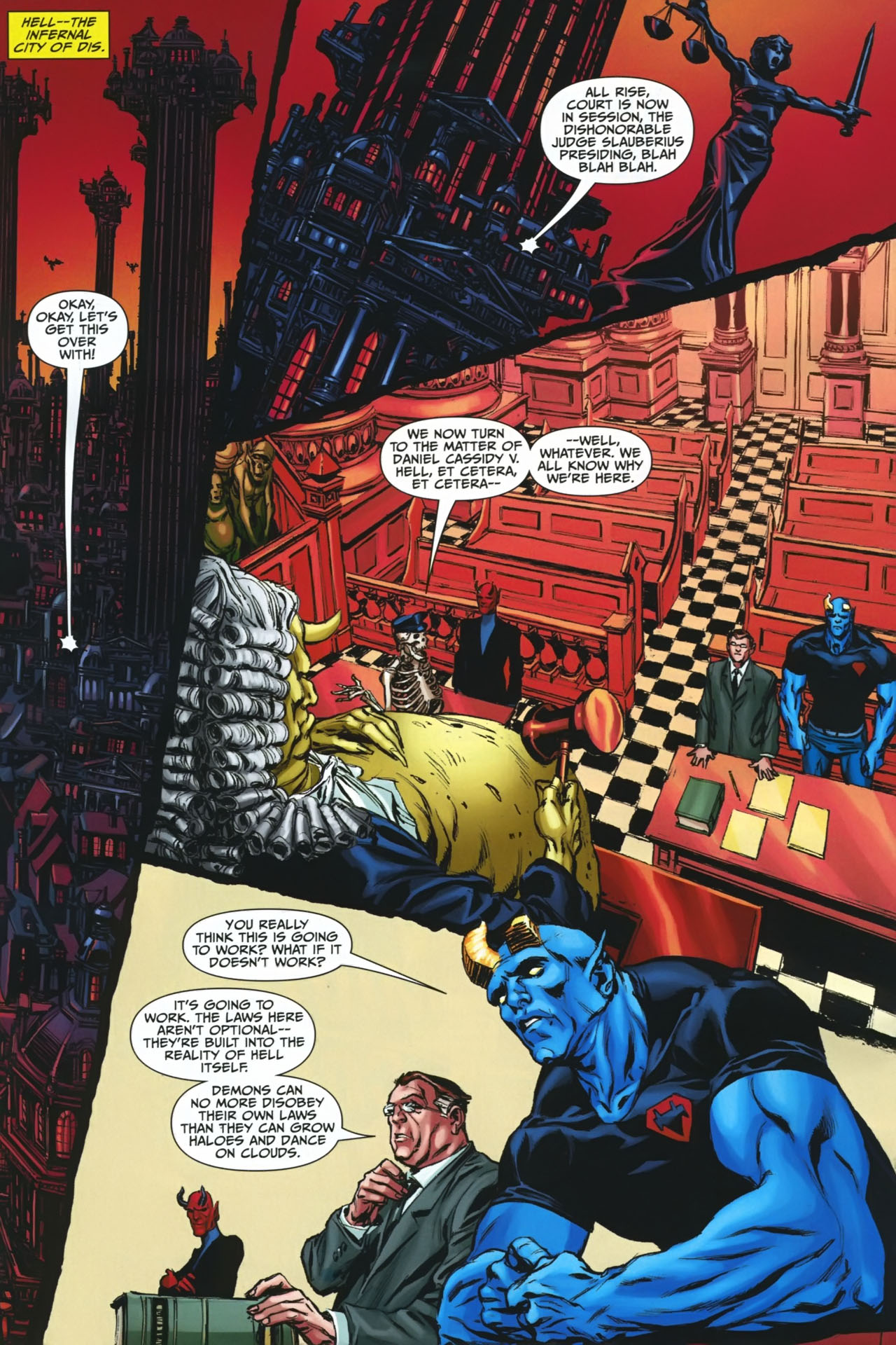 Read online Shadowpact comic -  Issue #23 - 15