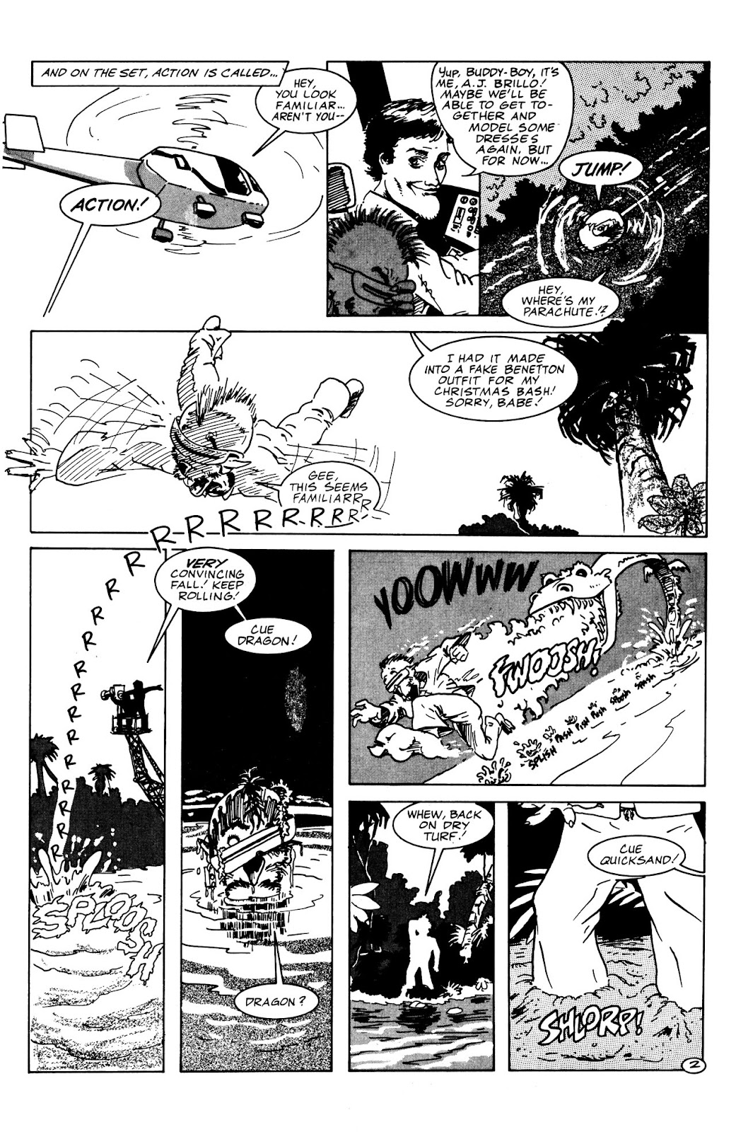 Adolescent Radioactive Black Belt Hamsters (1986) issue 9 - Page 10