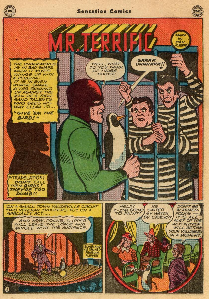 Read online Sensation (Mystery) Comics comic -  Issue #61 - 33