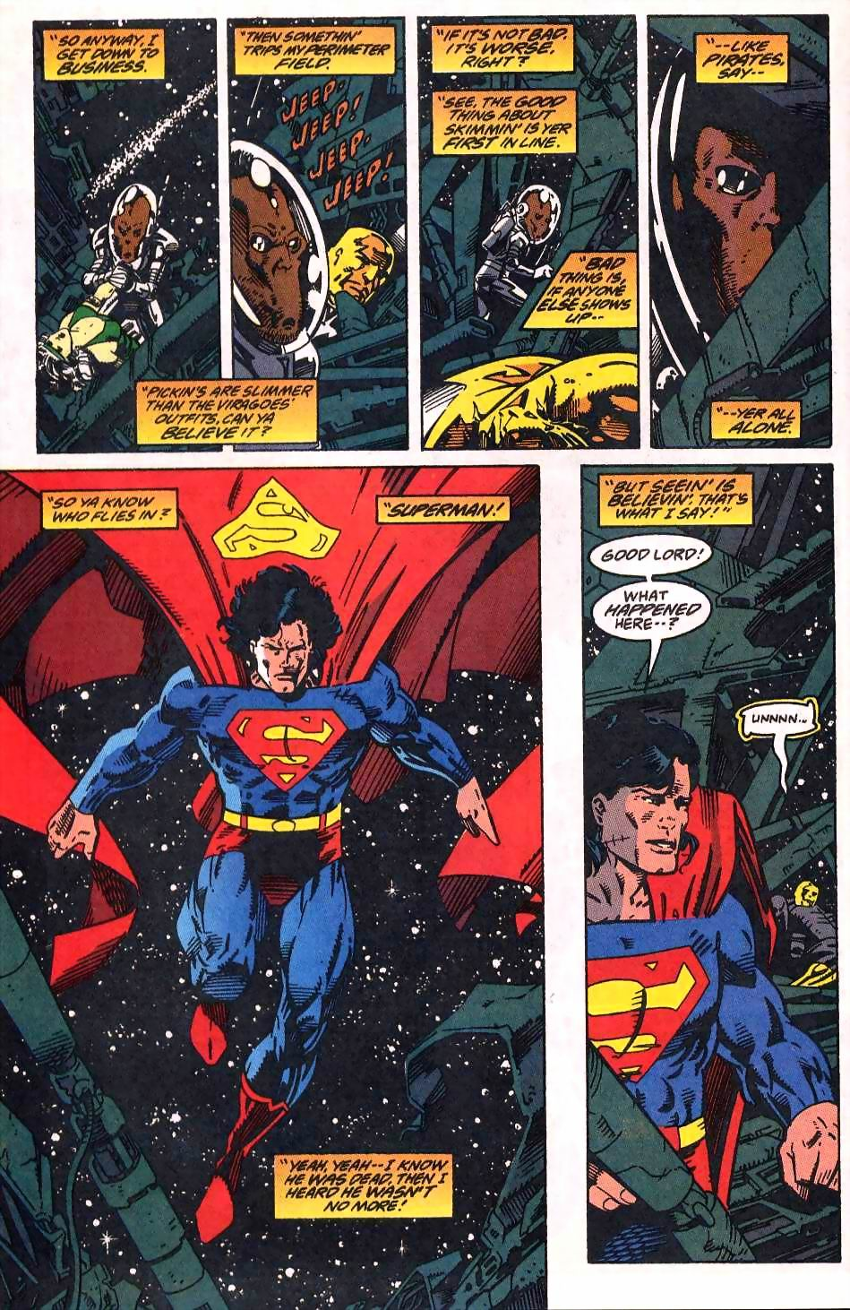 Read online Adventures of Superman (1987) comic -  Issue #509 - 10