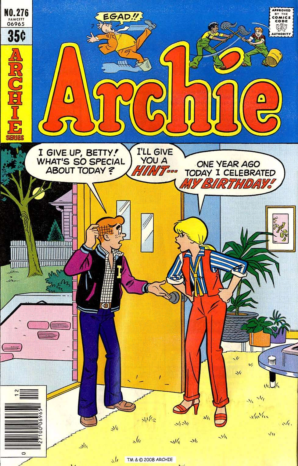 Read online Archie (1960) comic -  Issue #276 - 1