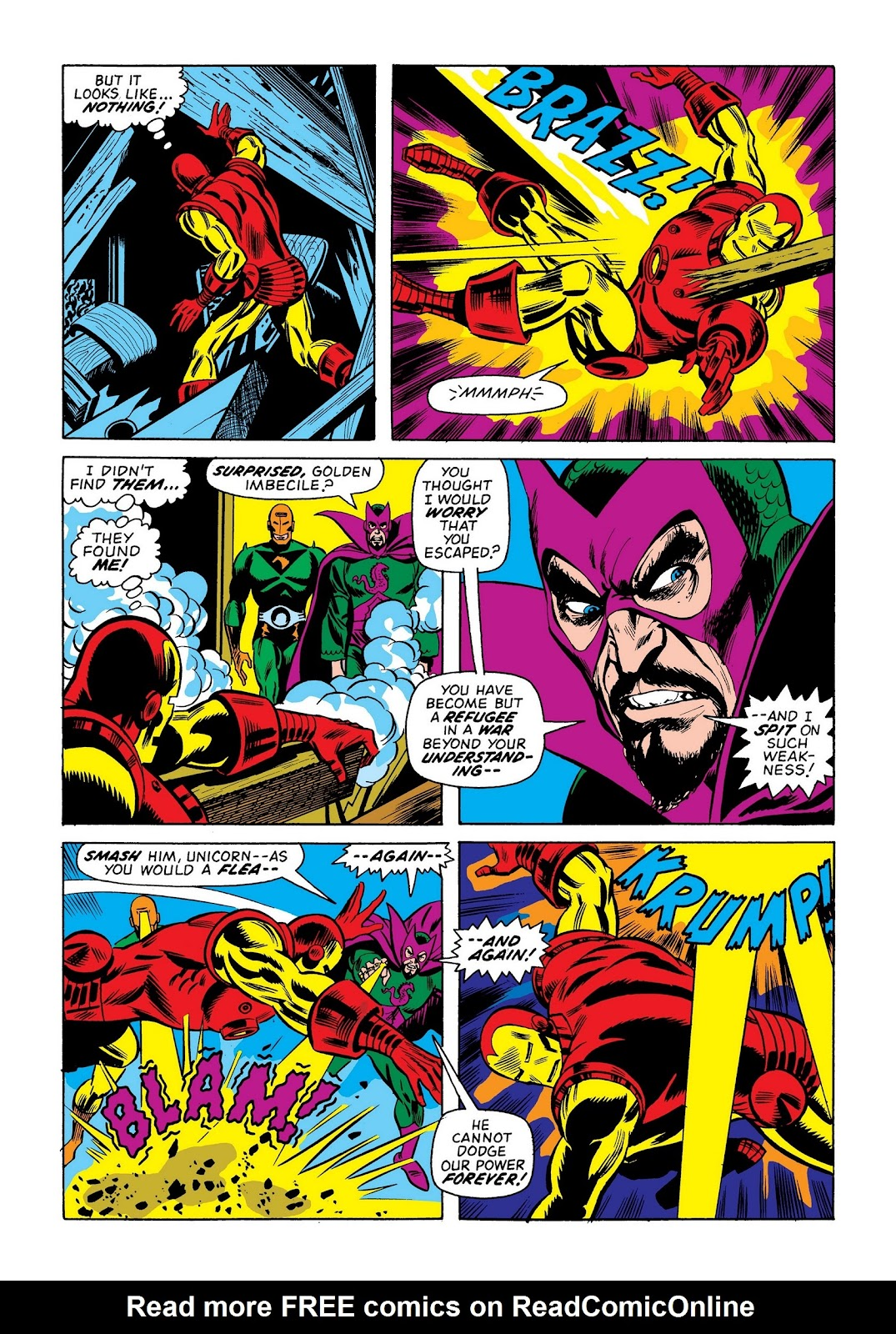 Read online Marvel Masterworks: The Invincible Iron Man comic -  Issue # TPB 9 (Part 2) - 6