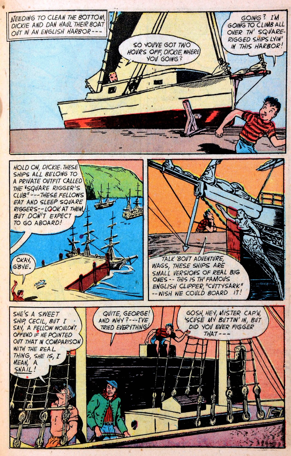 Read online Famous Funnies comic -  Issue #194 - 23