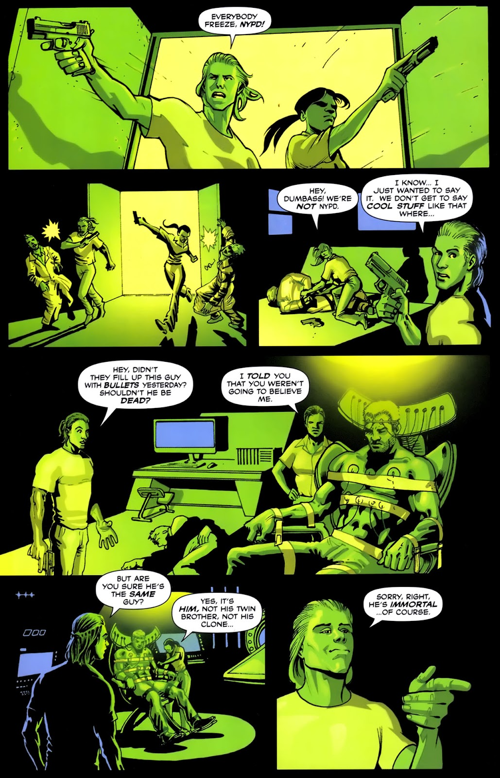 Read online Lazarus (2007) comic -  Issue #2 - 22