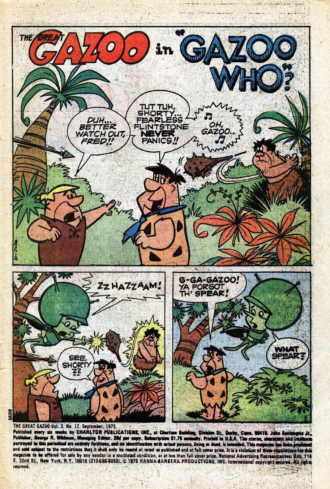 Great Gazoo issue 12 - Page 2