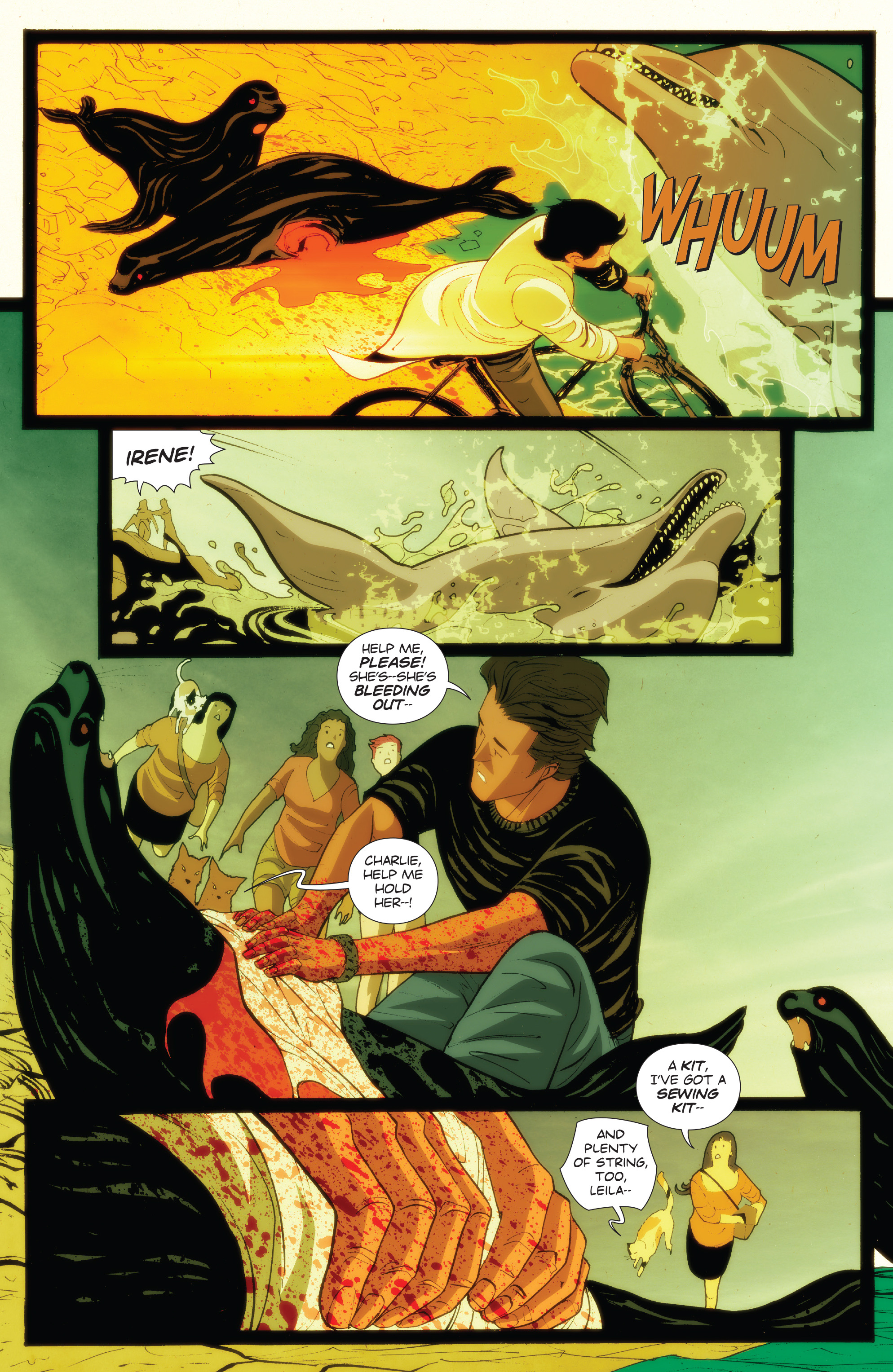 Read online Animosity: The Rise comic -  Issue #Animosity: The Rise Full - 9