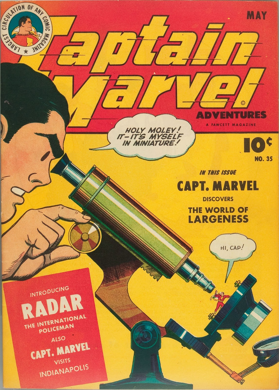 Captain Marvel Adventures issue 35 - Page 1