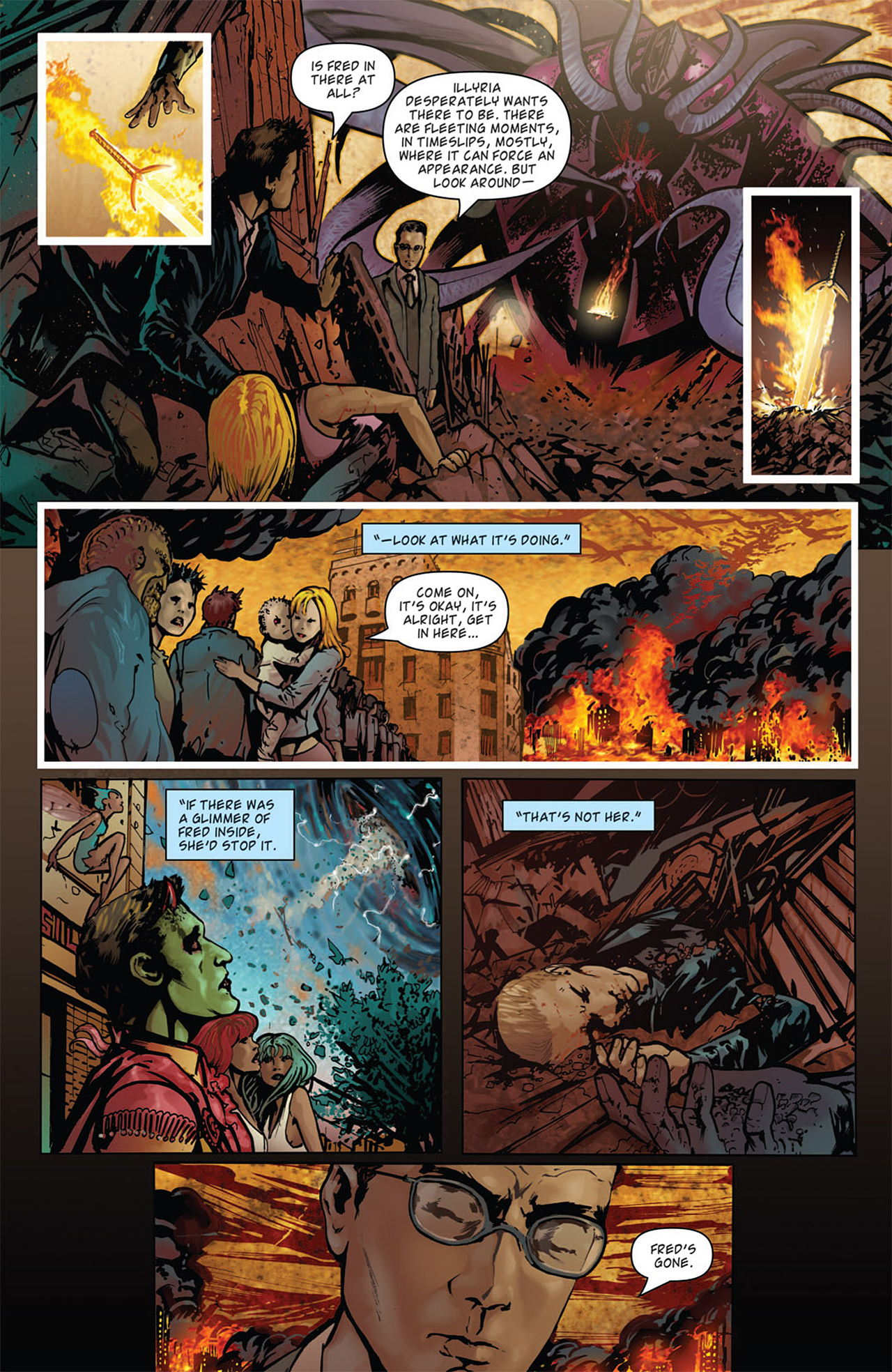 Read online Angel: After The Fall comic -  Issue #15 - 7