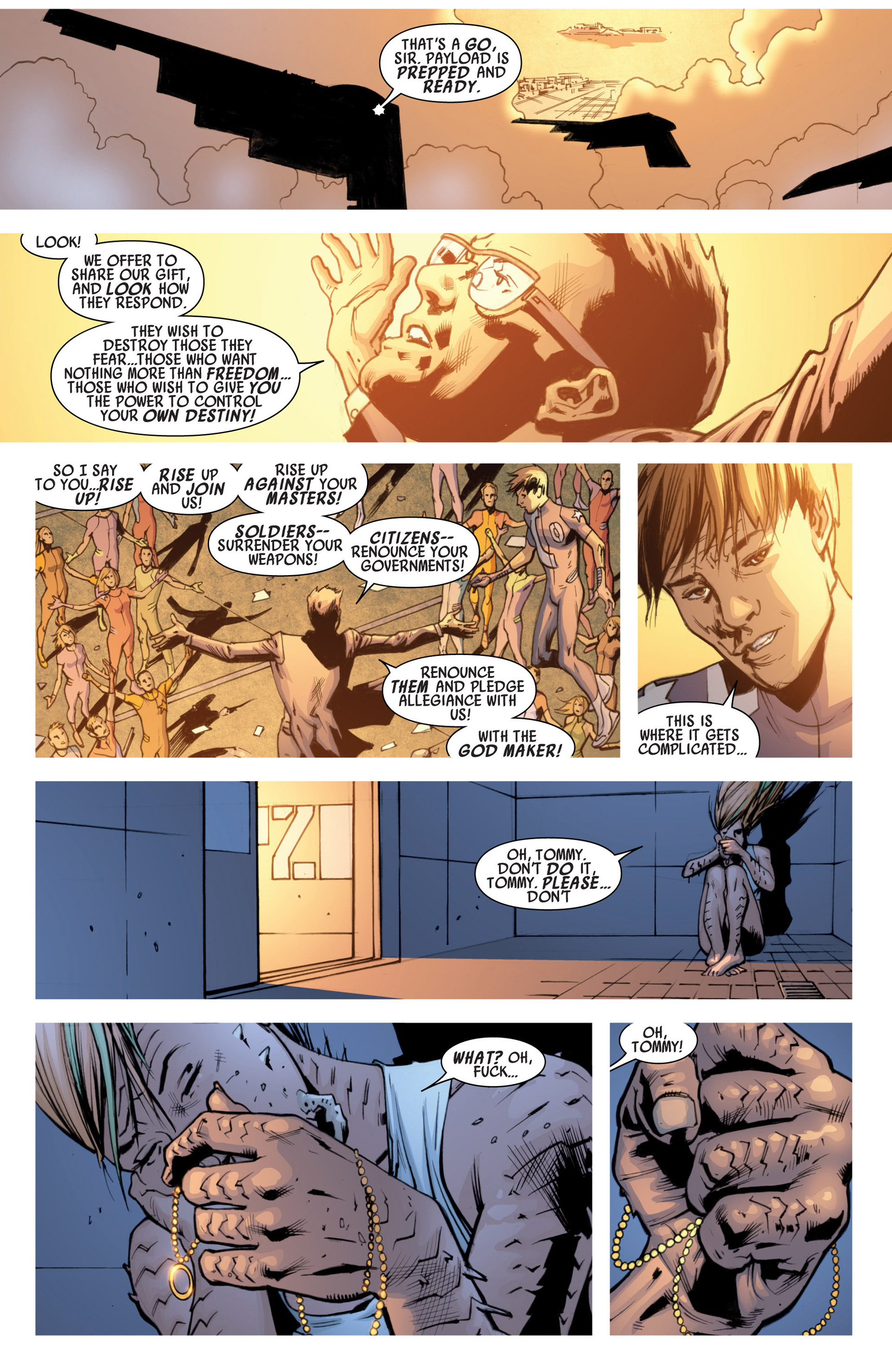 Read online America's Got Powers comic -  Issue #7 - 9
