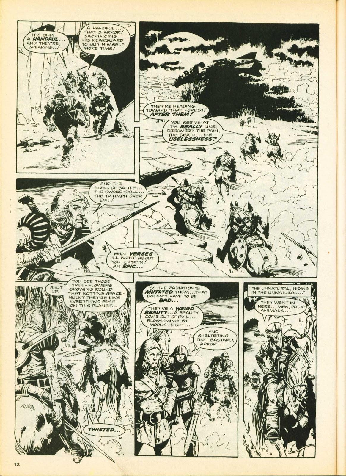 Warrior Issue #25 #26 - English 12