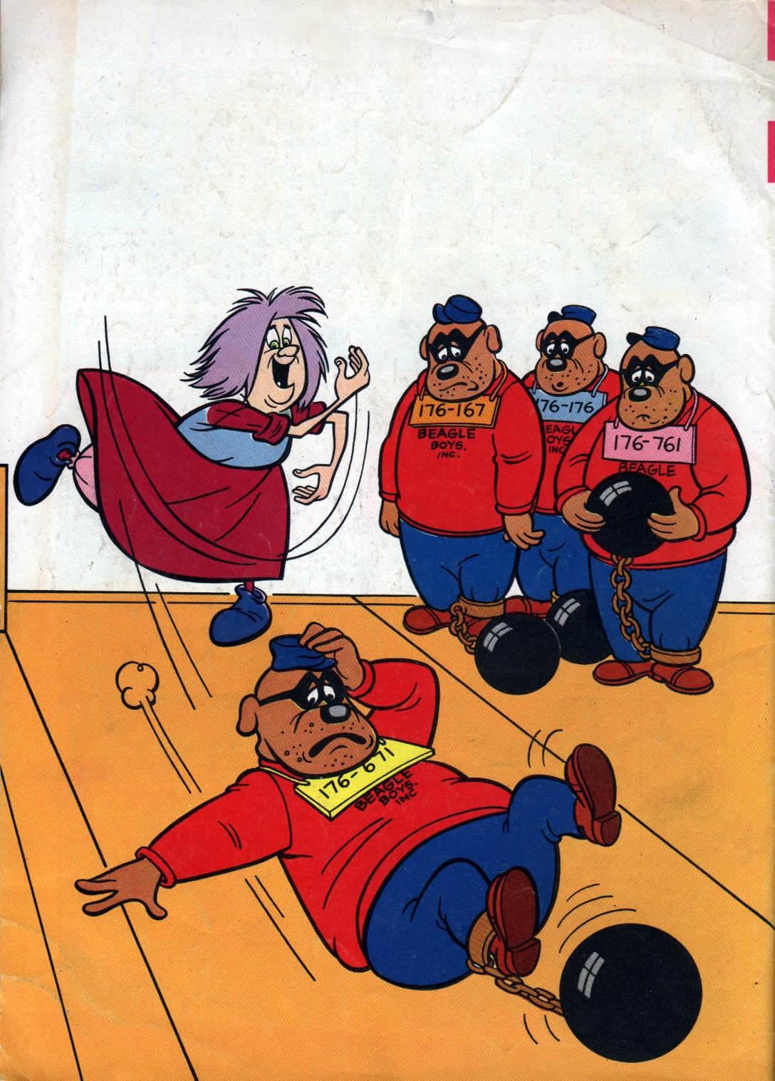 Walt Disney THE BEAGLE BOYS issue 1 - Page 36