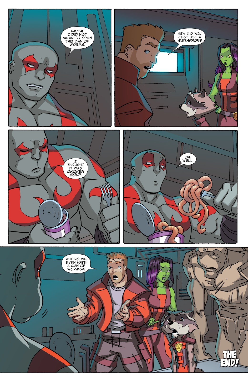Read online Marvel Universe Guardians of the Galaxy [I] comic -  Issue #3 - 12