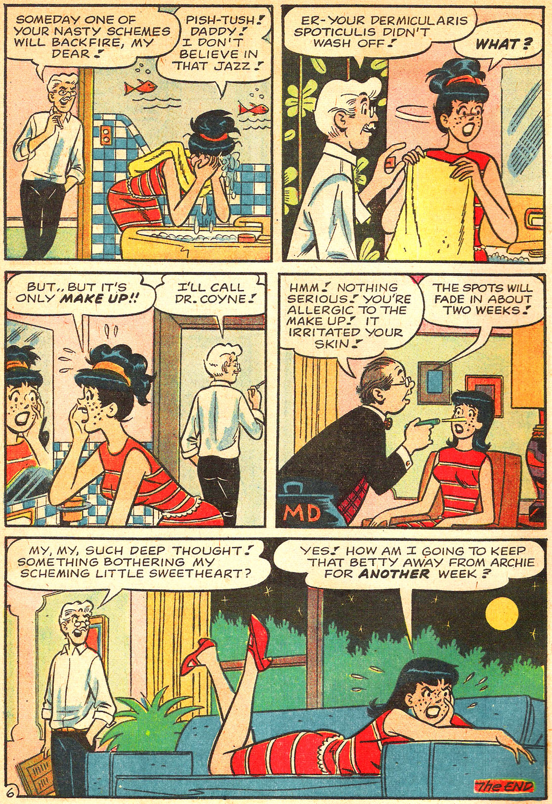 Read online Archie's Girls Betty and Veronica comic -  Issue #133 - 8