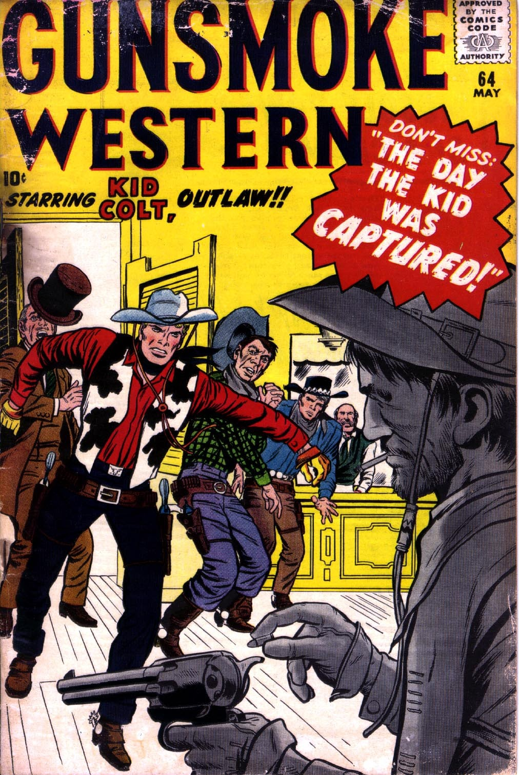 Gunsmoke Western issue 64 - Page 1