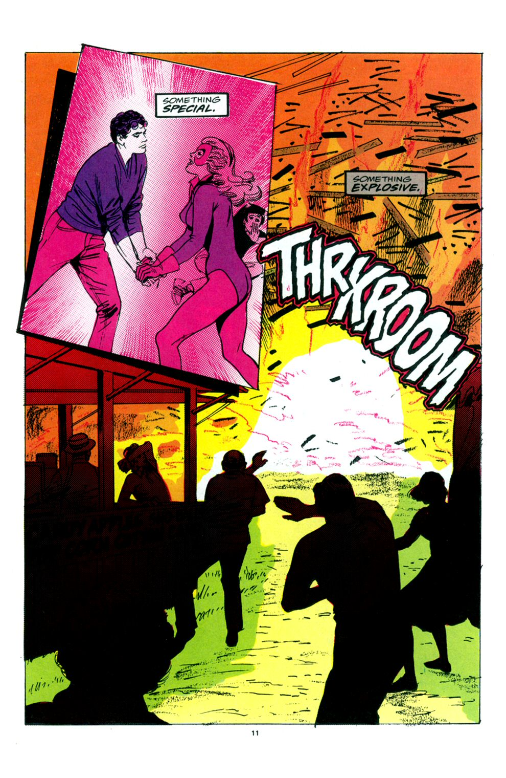 Read online Powerline comic -  Issue #6 - 13