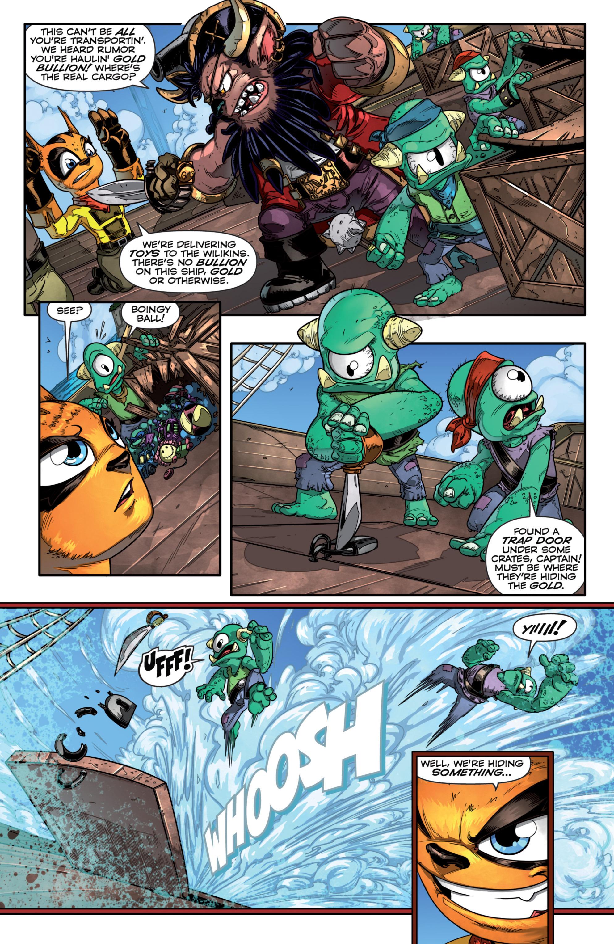 Read online Skylanders comic -  Issue #7 - 5