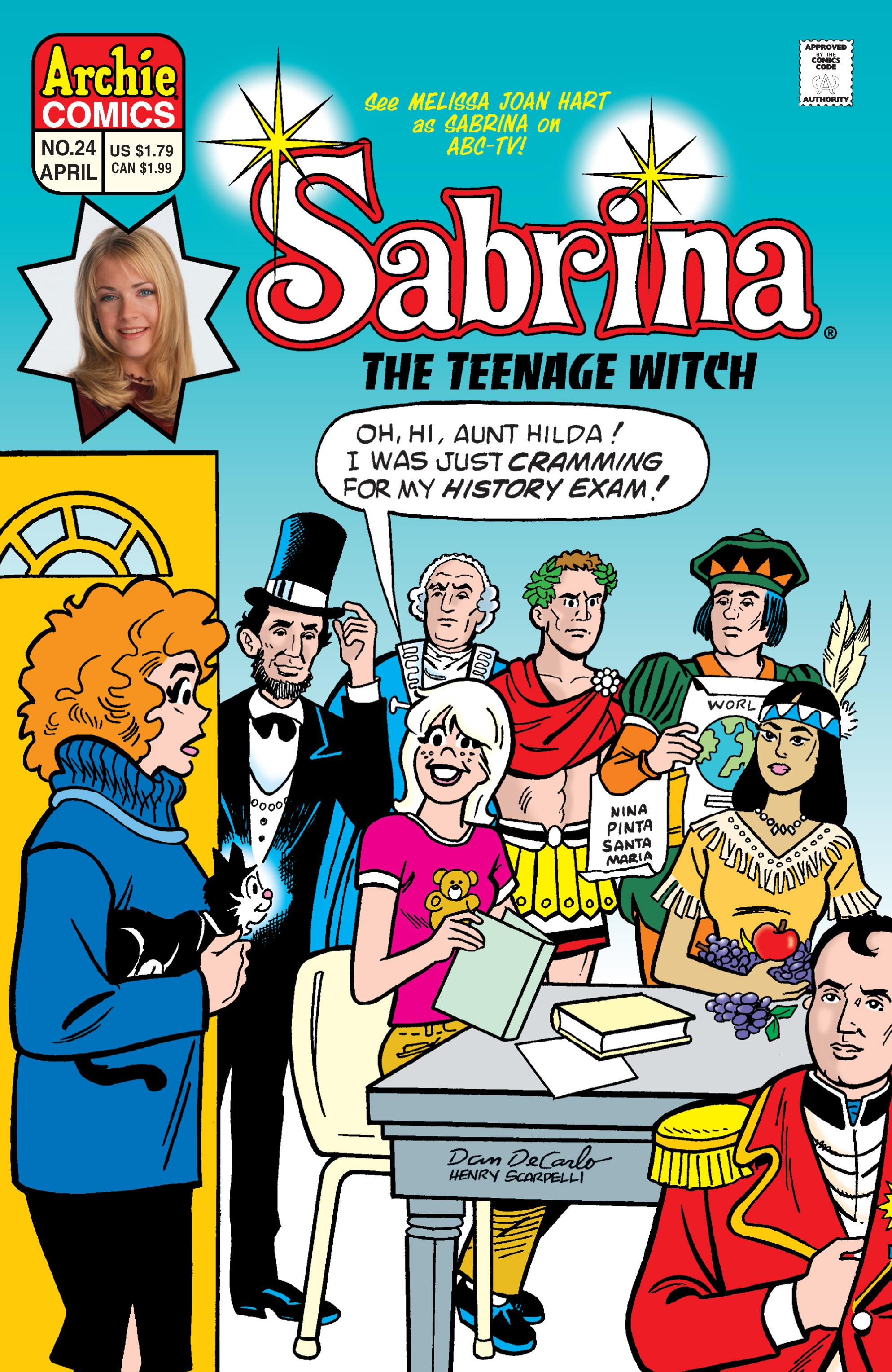 Sabrina the Teenage Witch (1997) 24 Page 1