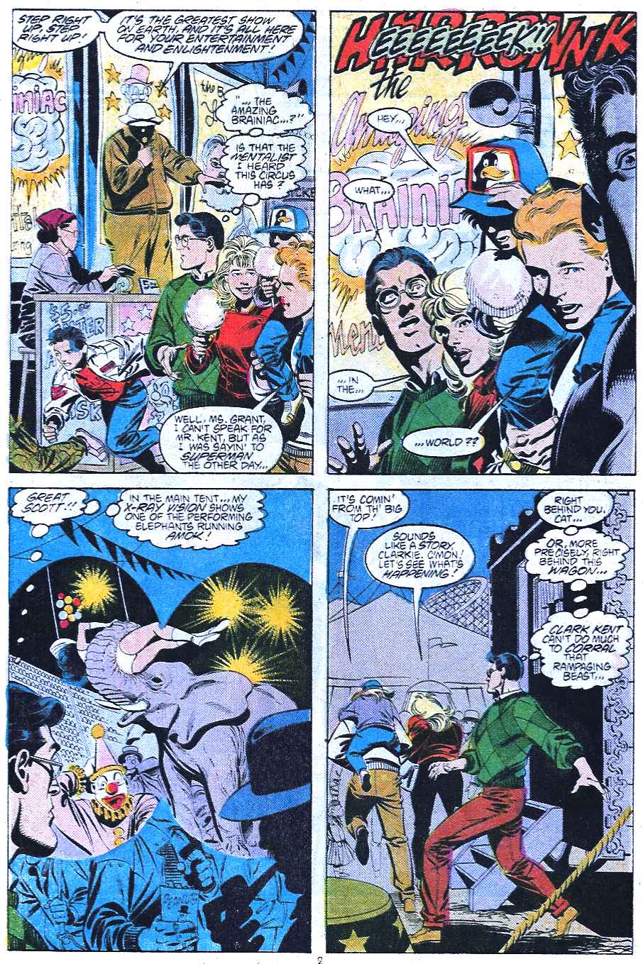 Read online Adventures of Superman (1987) comic -  Issue #438 - 3