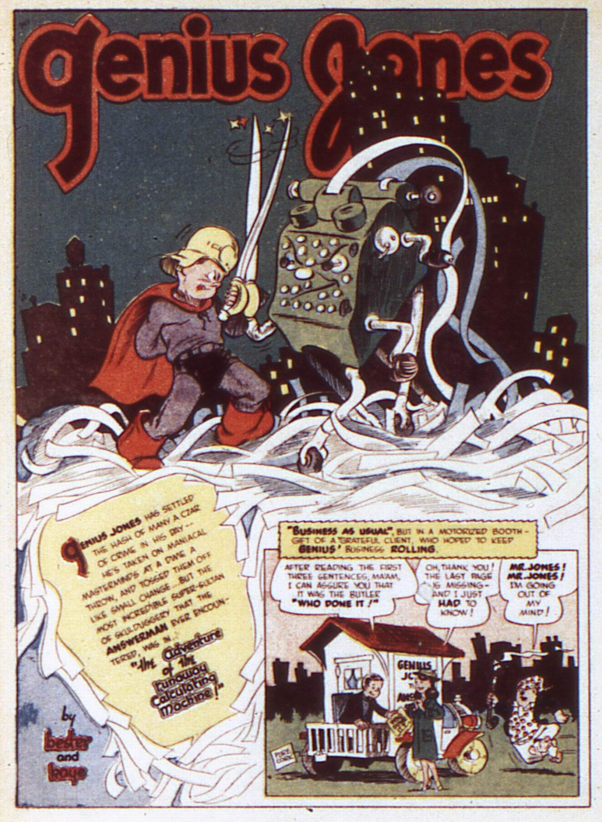 Read online Adventure Comics (1938) comic -  Issue #84 - 38