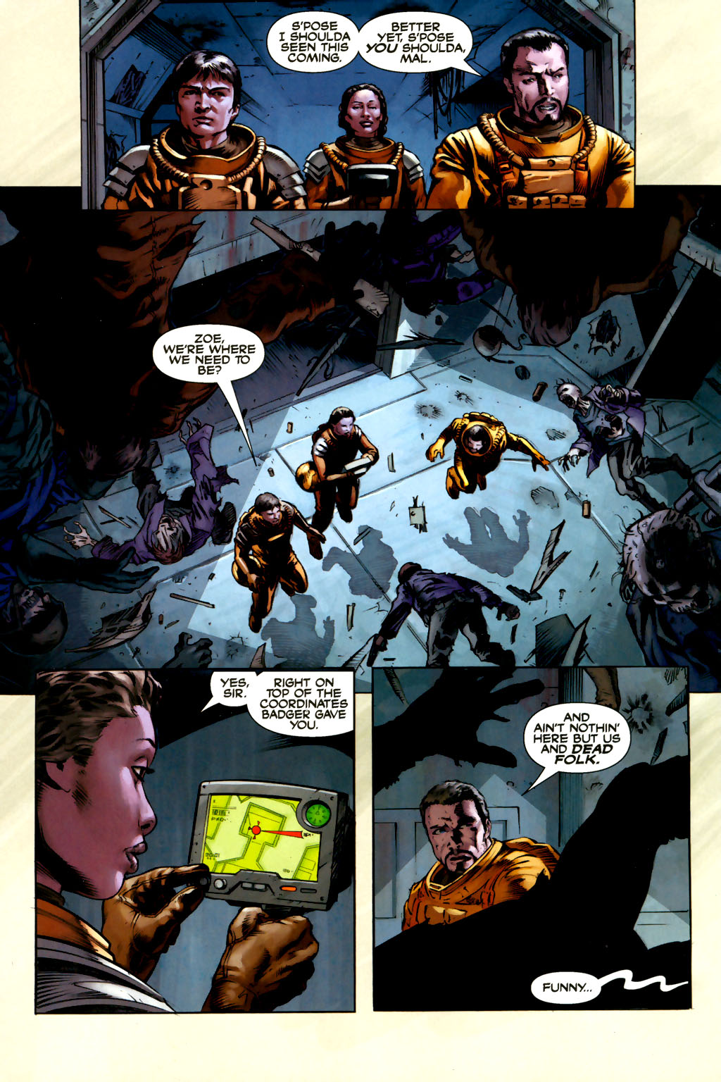 Read online Serenity comic -  Issue #3 - 10
