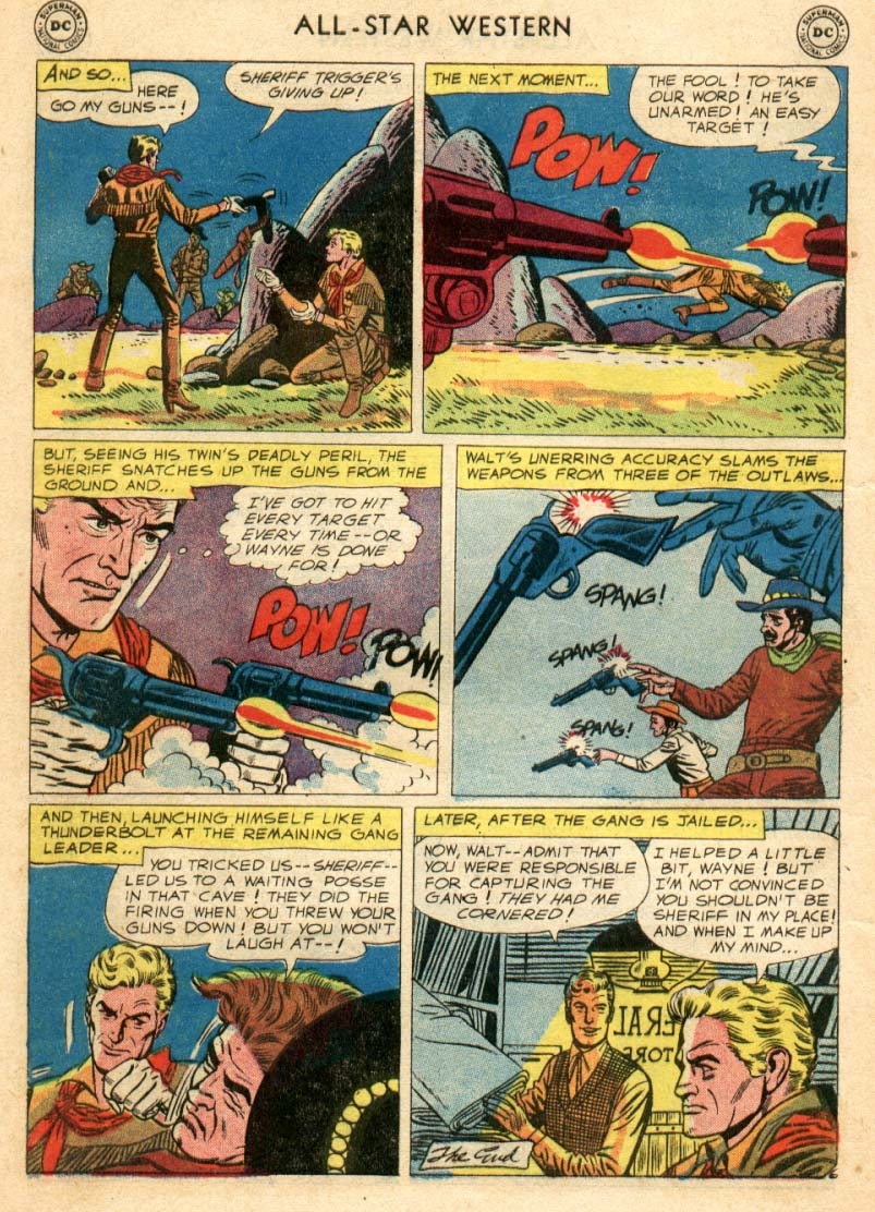 Read online All-Star Western (1951) comic -  Issue #97 - 7