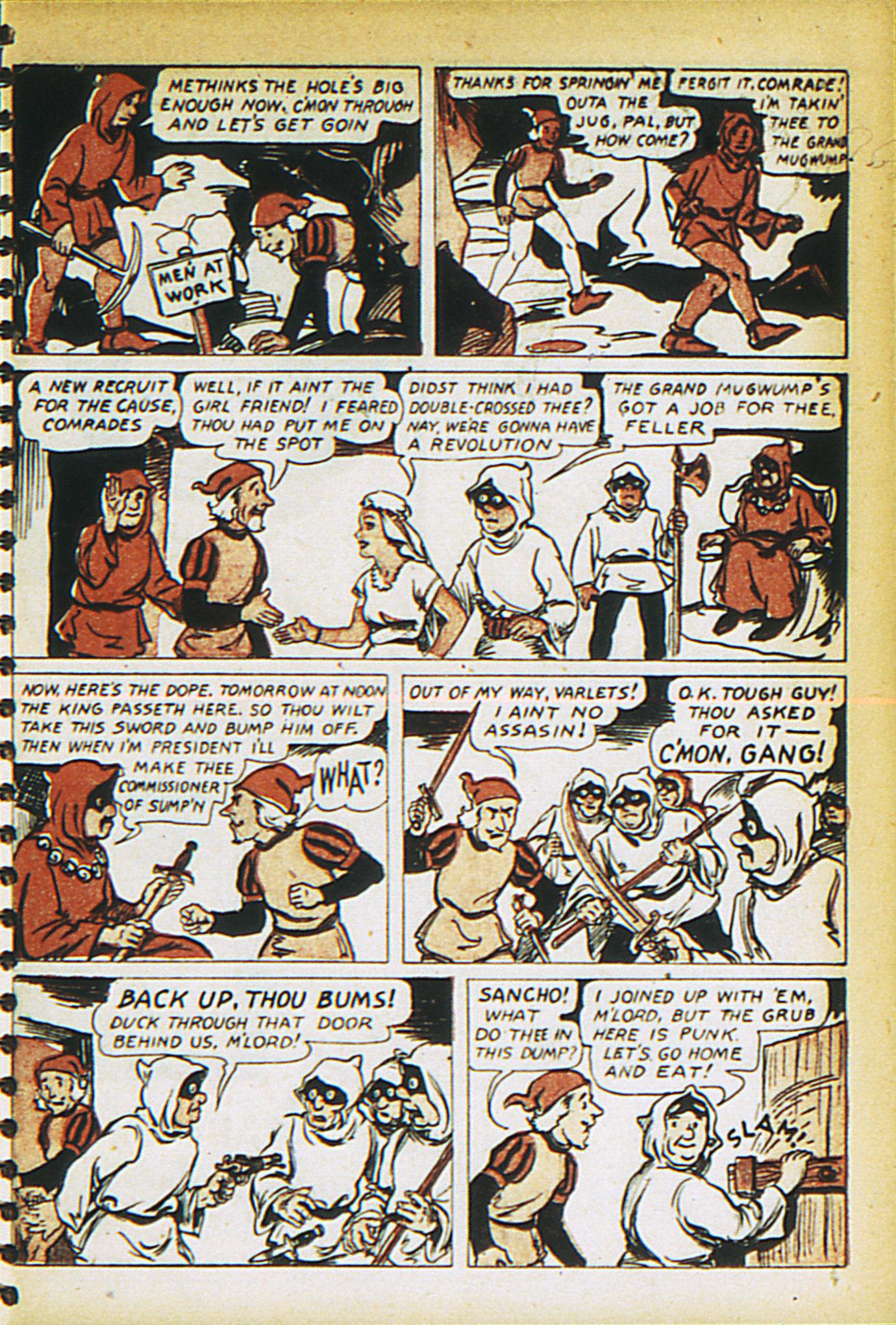Read online Adventure Comics (1938) comic -  Issue #27 - 47