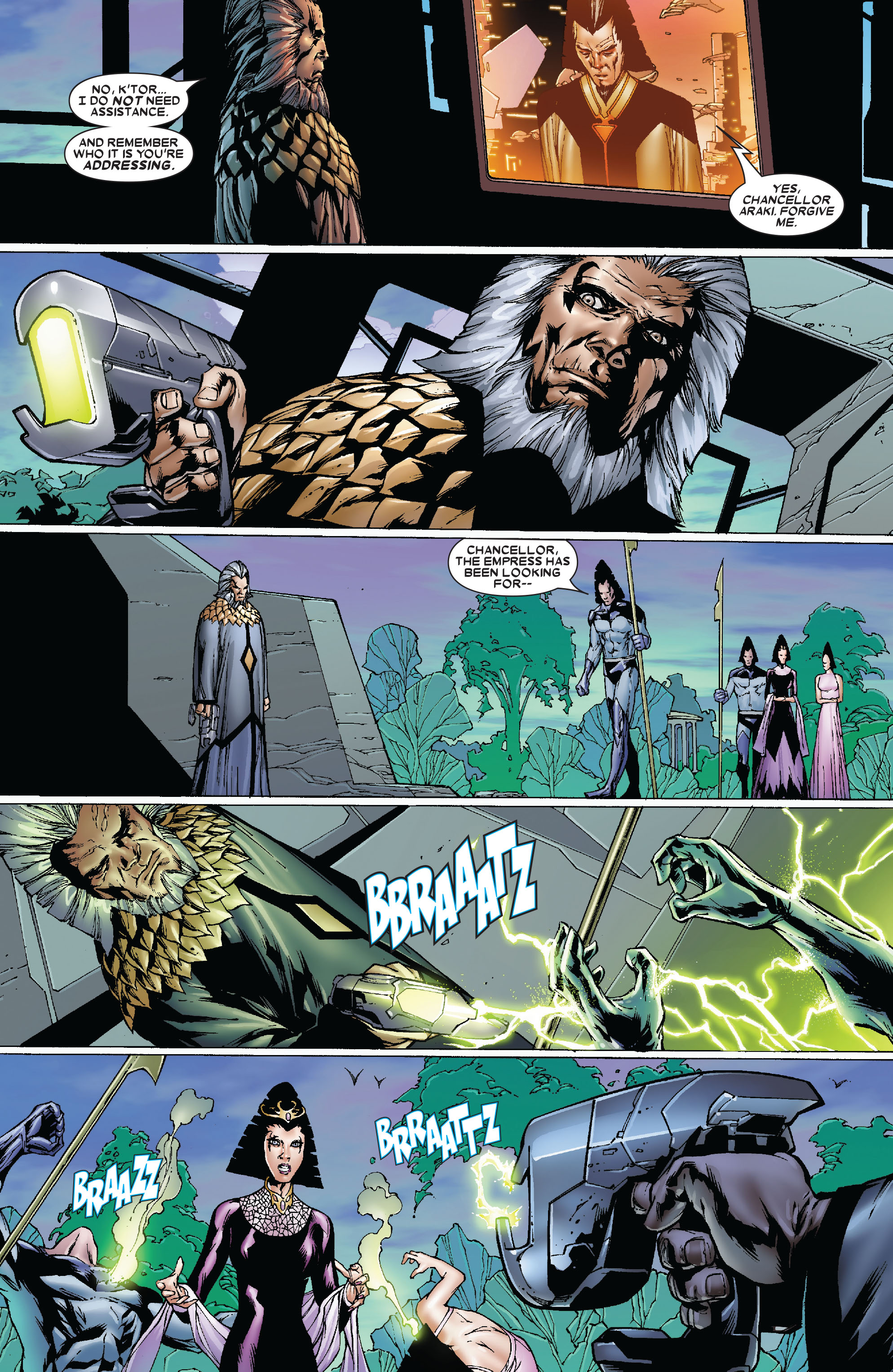 Read online Uncanny X-Men (1963) comic -  Issue #481 - 3