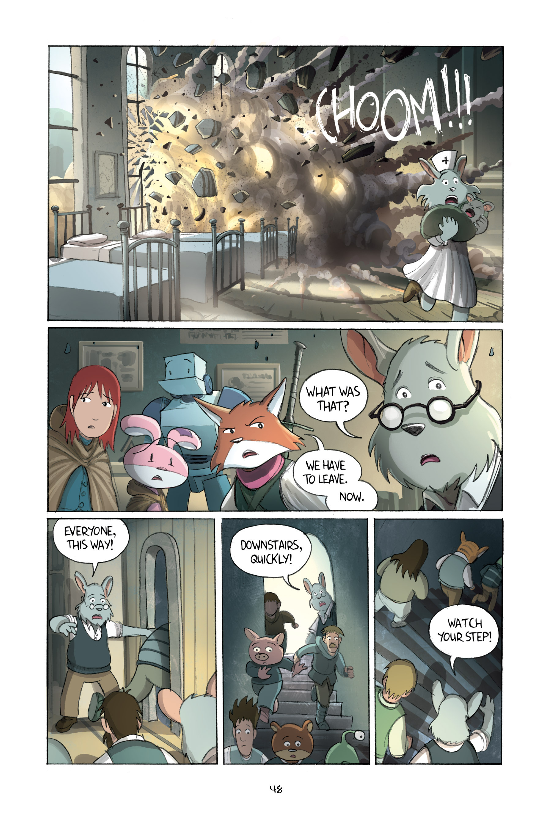 Read online Amulet comic -  Issue #2 - 50