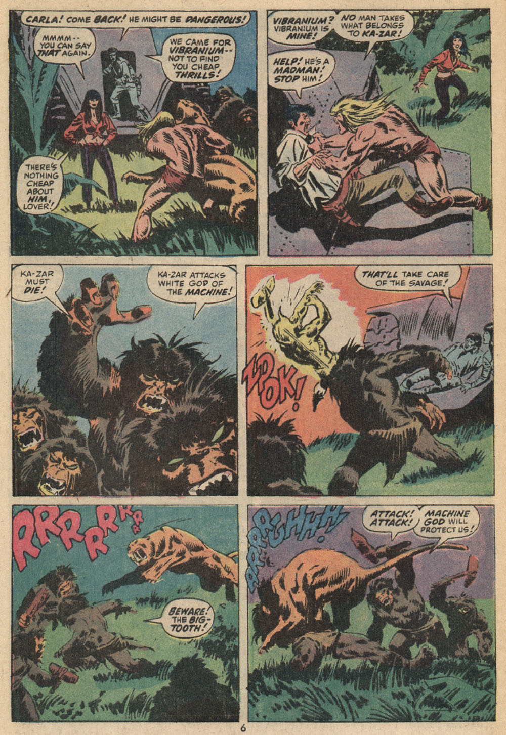 Astonishing Tales (1970) issue 14 - Page 6