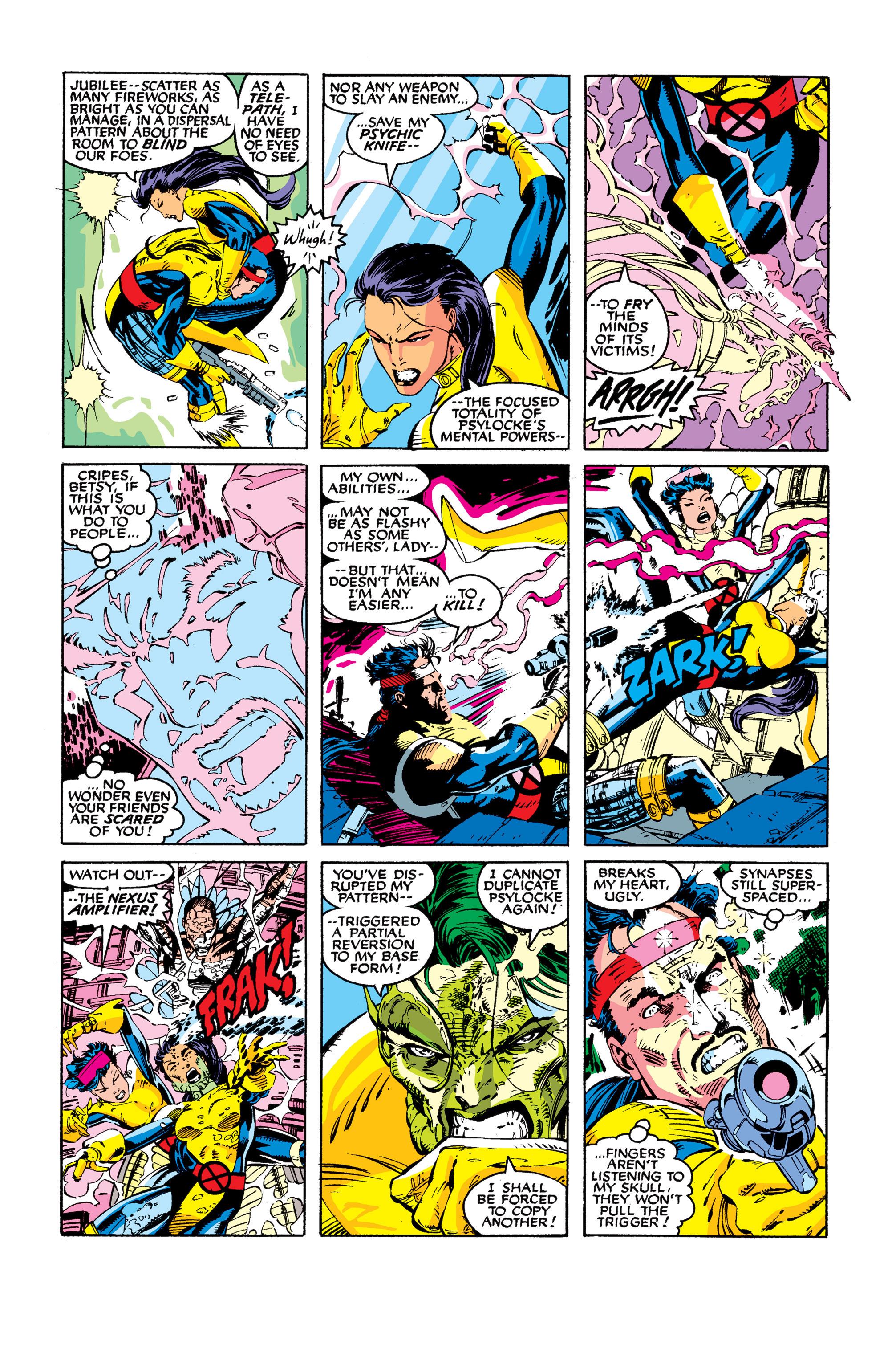 Read online Uncanny X-Men (1963) comic -  Issue #277 - 16