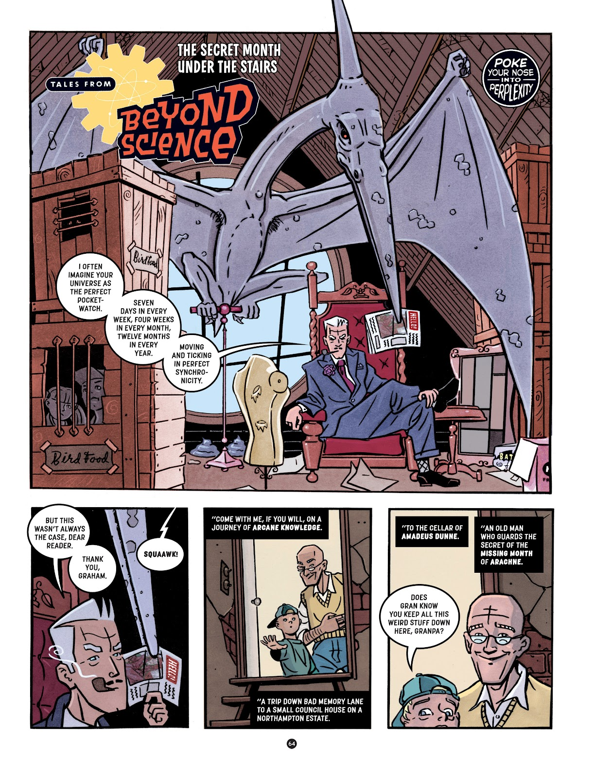 Read online Tales from Beyond Science comic -  Issue # TPB - 65