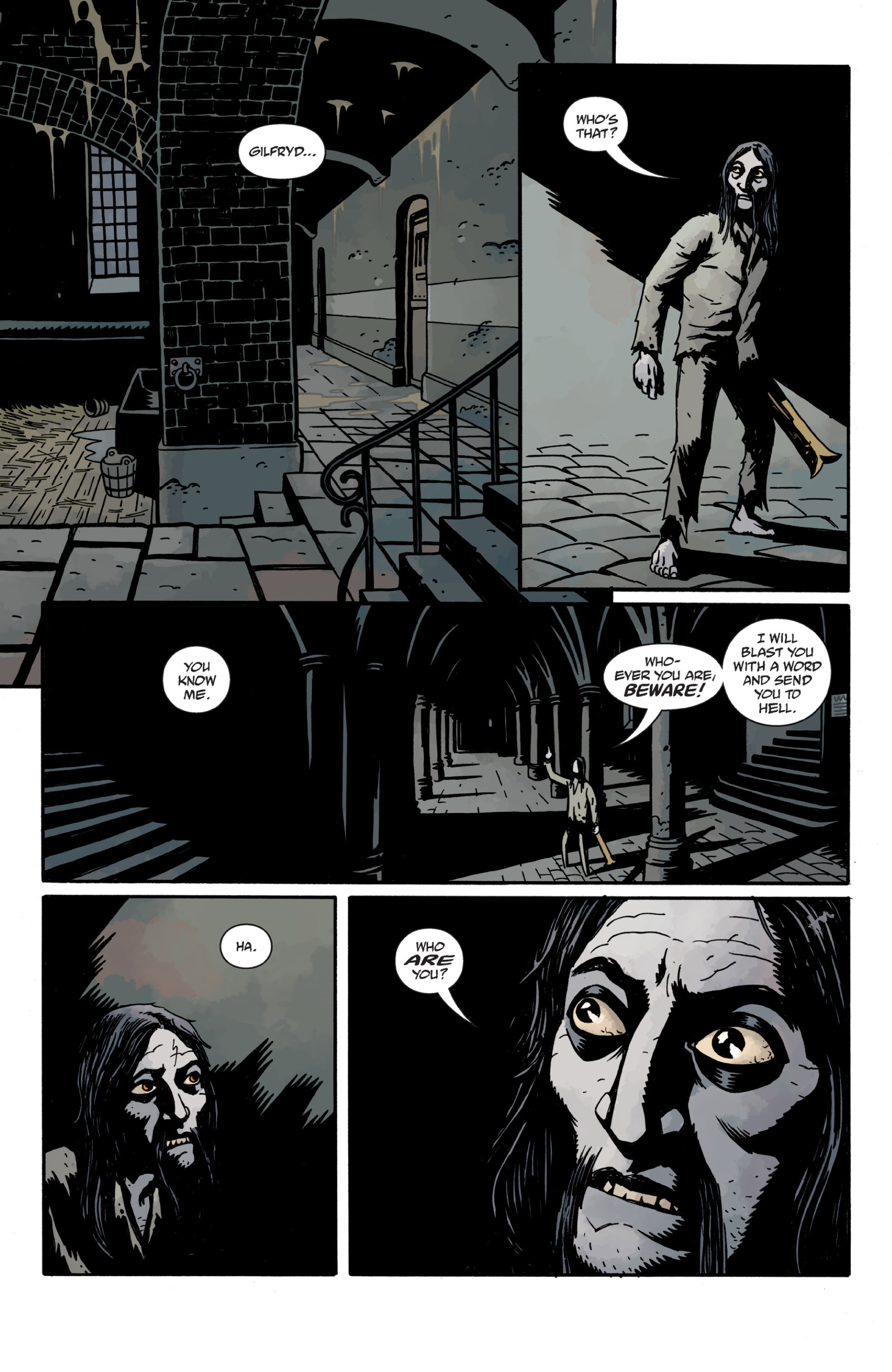 Read online Sir Edward Grey, Witchfinder: In the Service of Angels comic -  Issue # TPB - 115