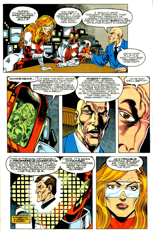 Read online Alpha Flight (1983) comic -  Issue #118 - 9