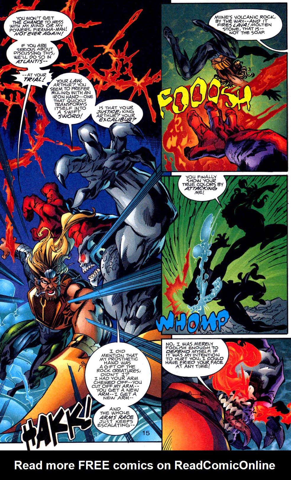 Read online Aquaman (1994) comic -  Issue #62 - 16