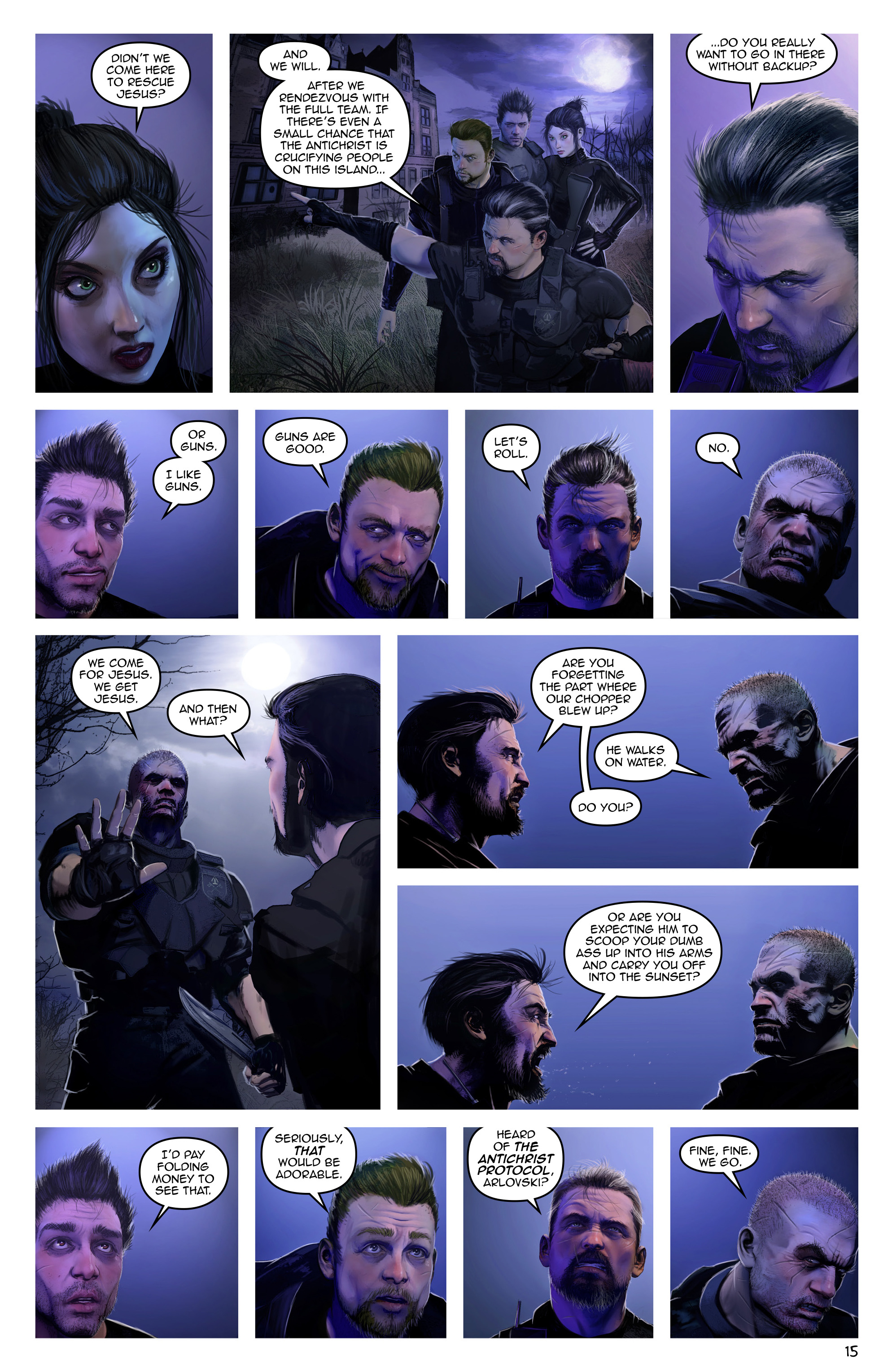 Read online Escape from Jesus Island comic -  Issue #3 - 15