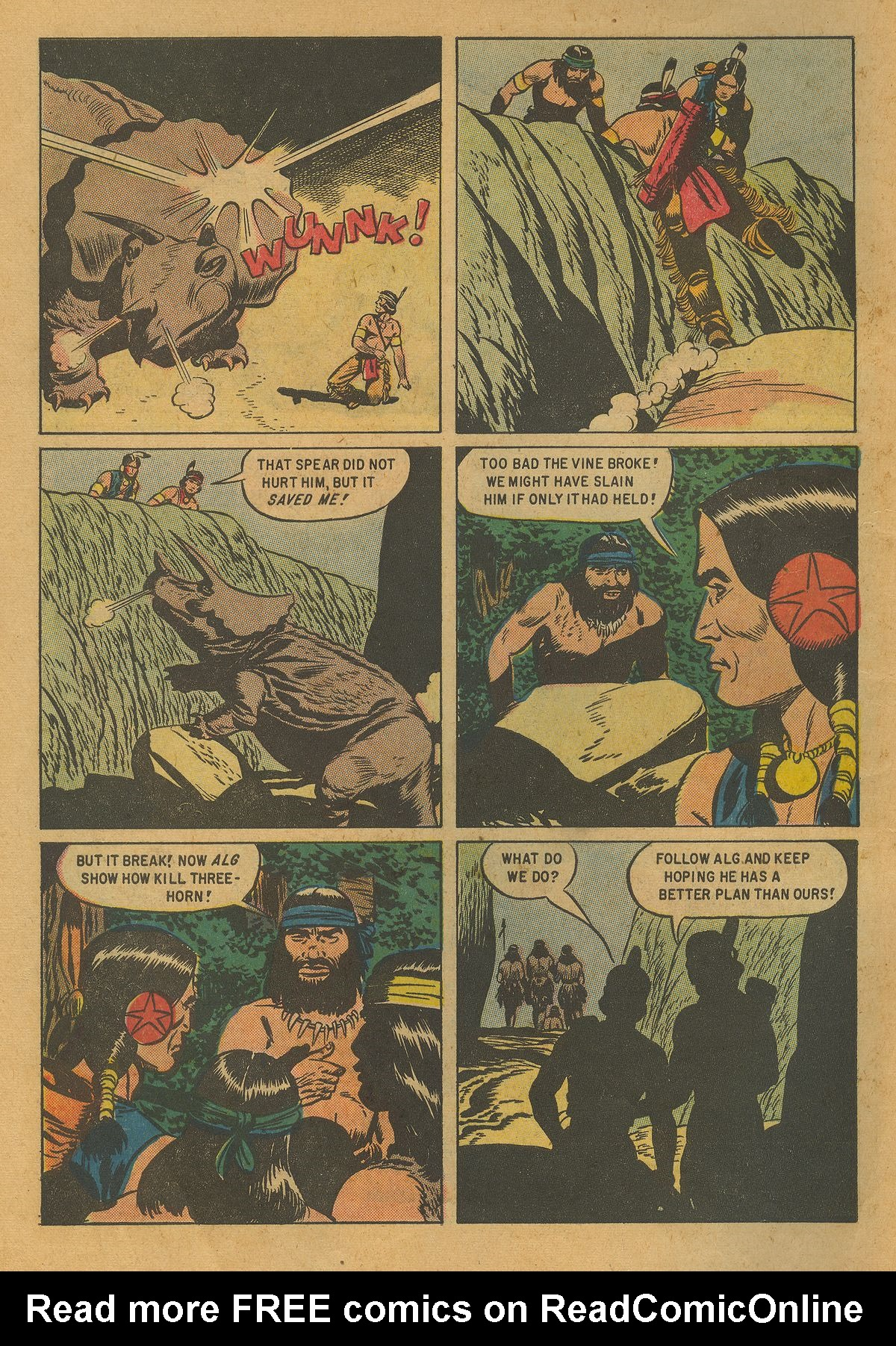 Read online Turok, Son of Stone comic -  Issue #10 - 10