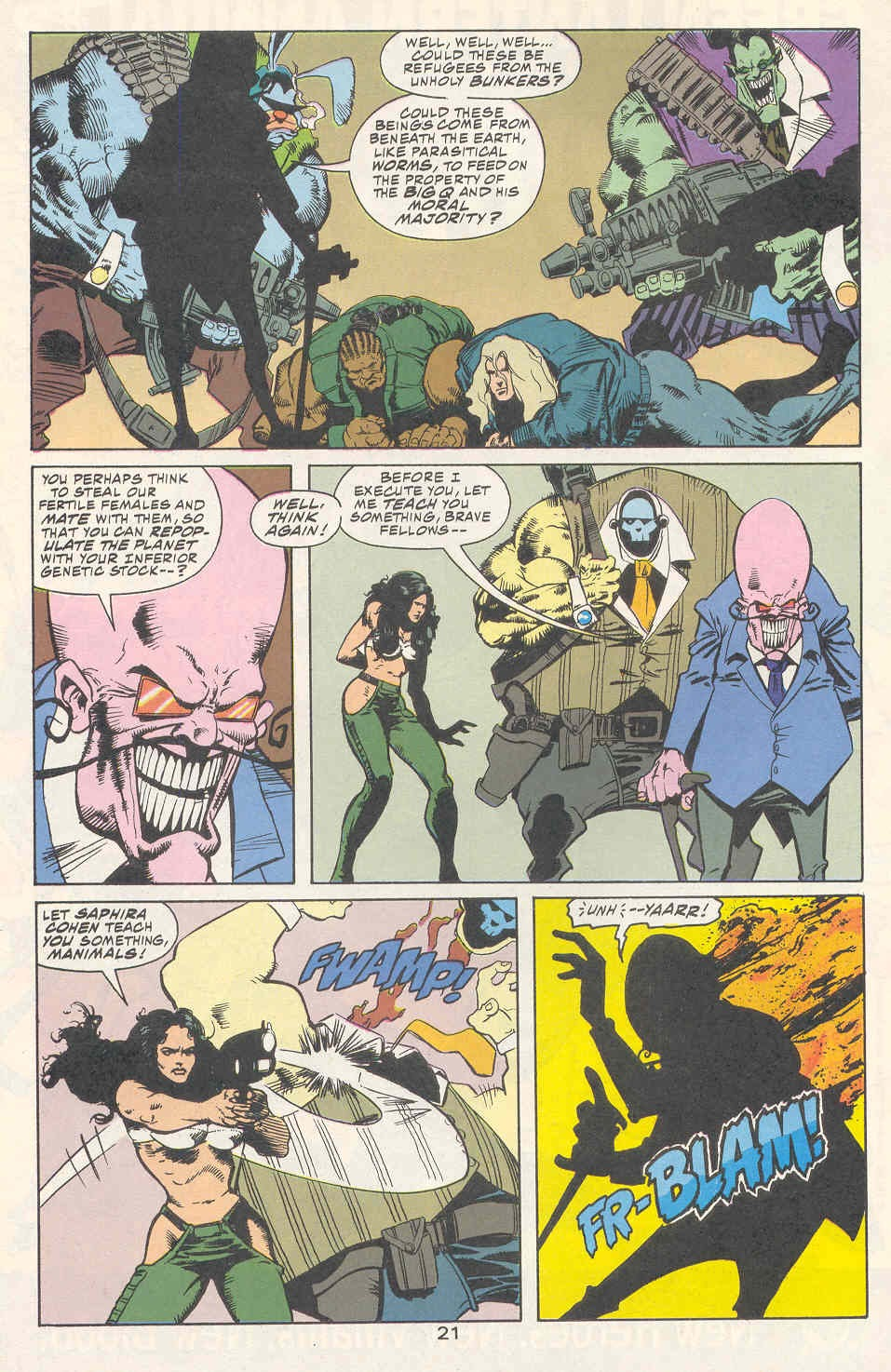 Read online Kamandi: At Earth's End comic -  Issue #2 - 22