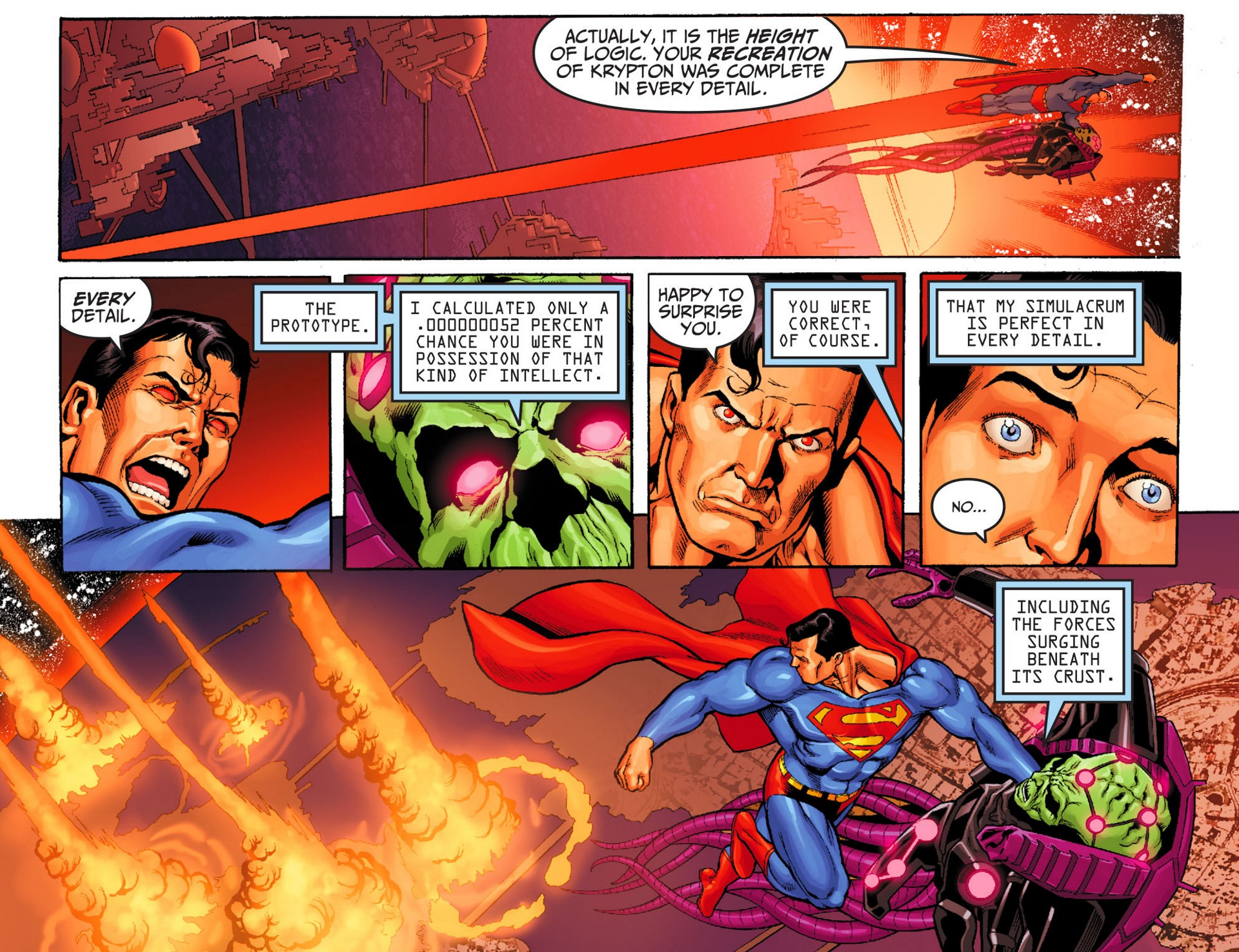 Read online Adventures of Superman [I] comic -  Issue #24 - 18