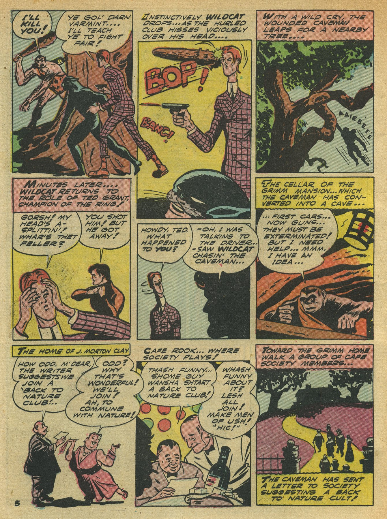 Read online Sensation (Mystery) Comics comic -  Issue #10 - 60