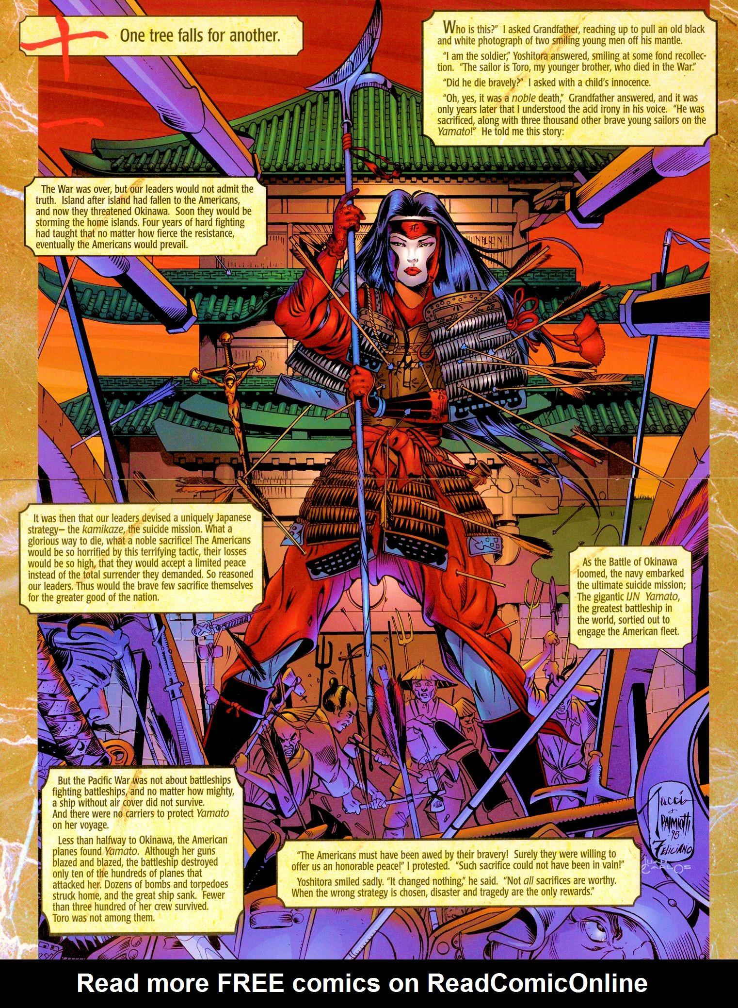 Read online Shi: Senryaku comic -  Issue #1 - 16