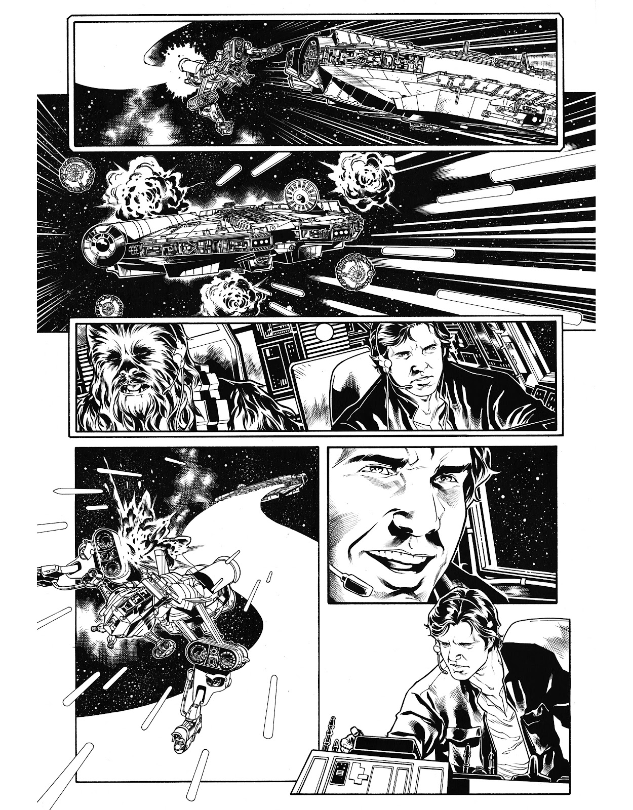 Read online The Marvel Art of Star Wars comic -  Issue # TPB (Part 2) - 42