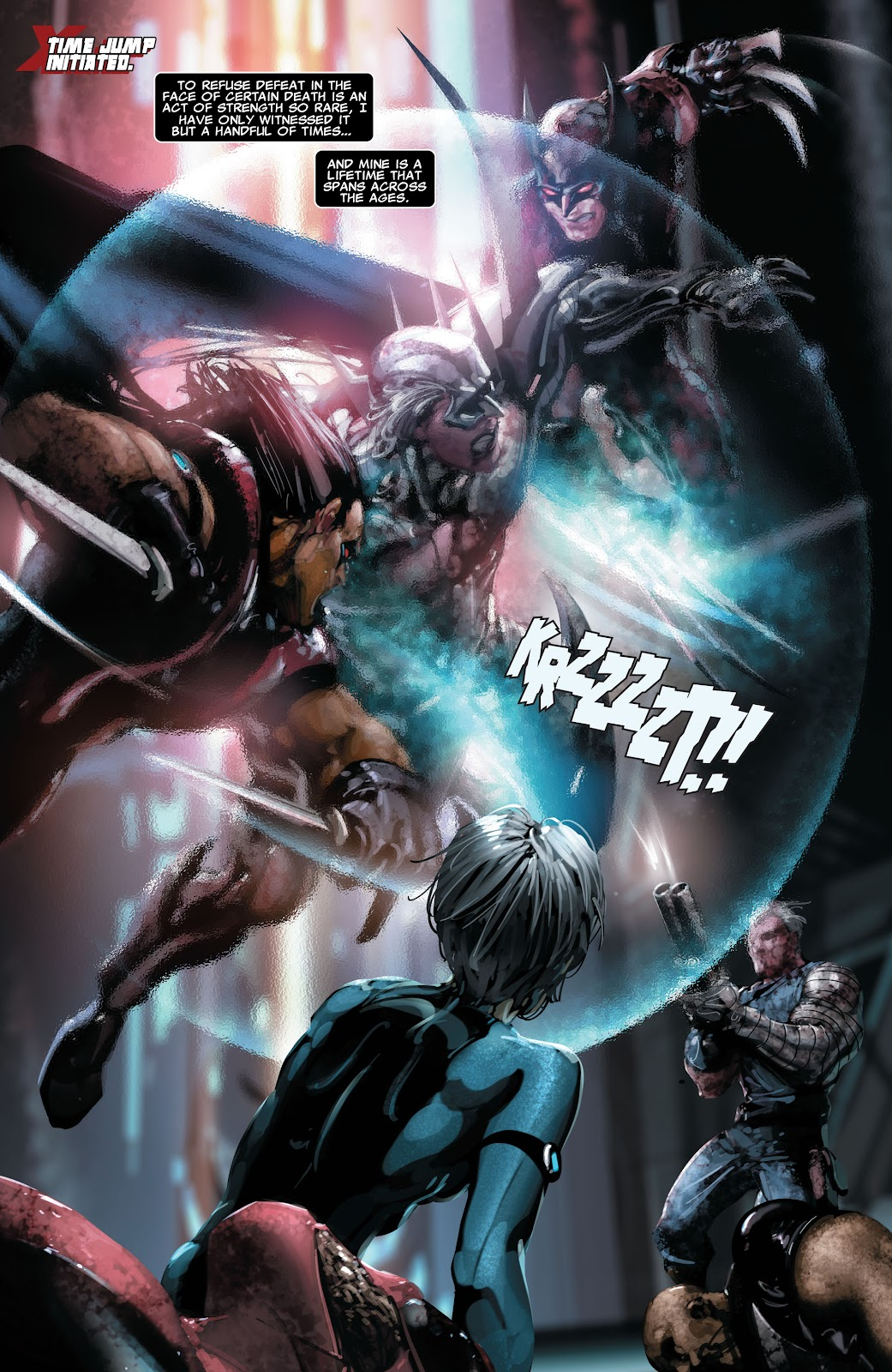 Read online X-Force/Cable: Messiah War comic -  Issue # _TPB (Part 2) - 121