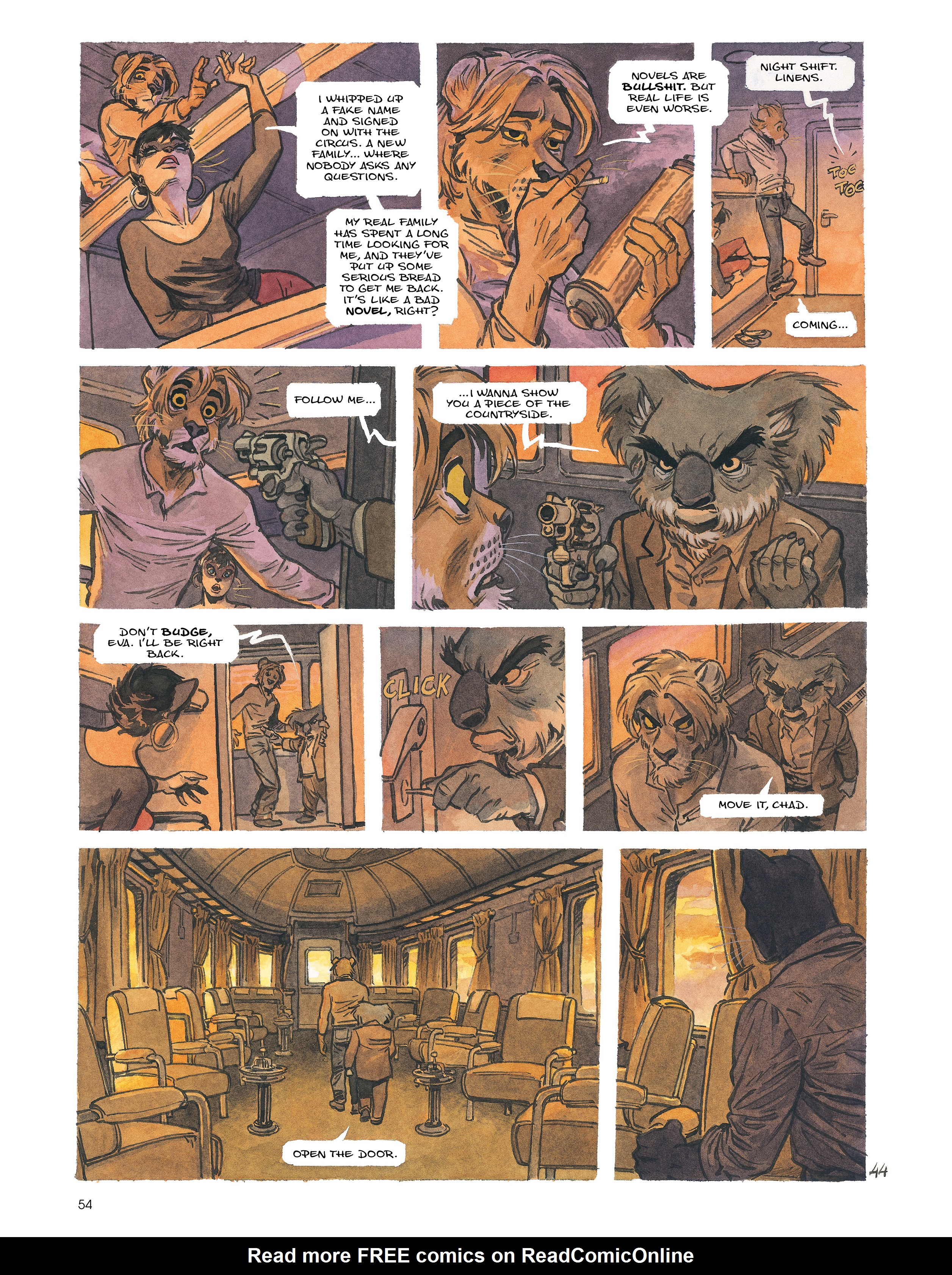 Read online Blacksad: Amarillo comic -  Issue # Full - 53