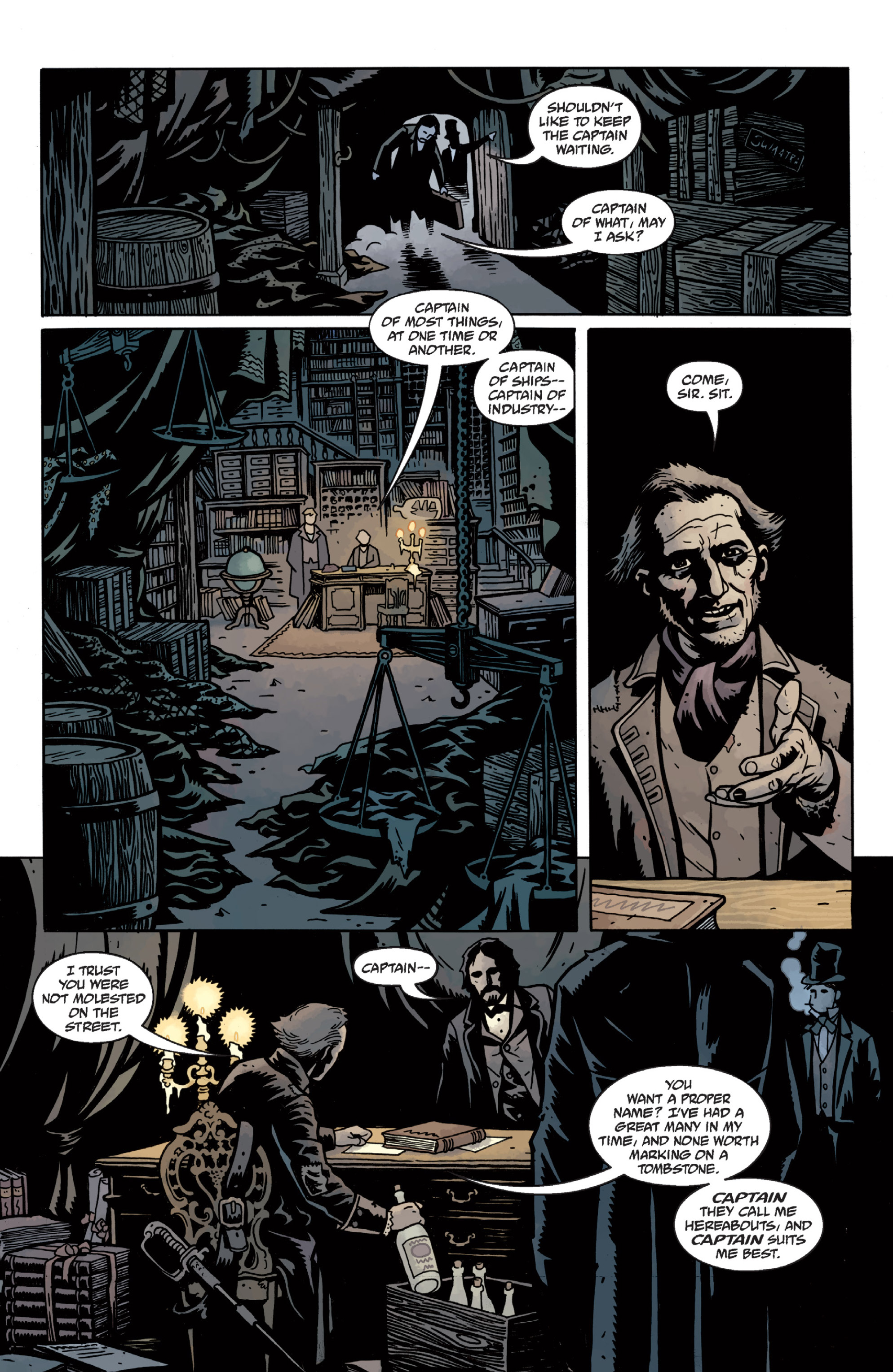 Read online Sir Edward Grey, Witchfinder: In the Service of Angels comic -  Issue # TPB - 36