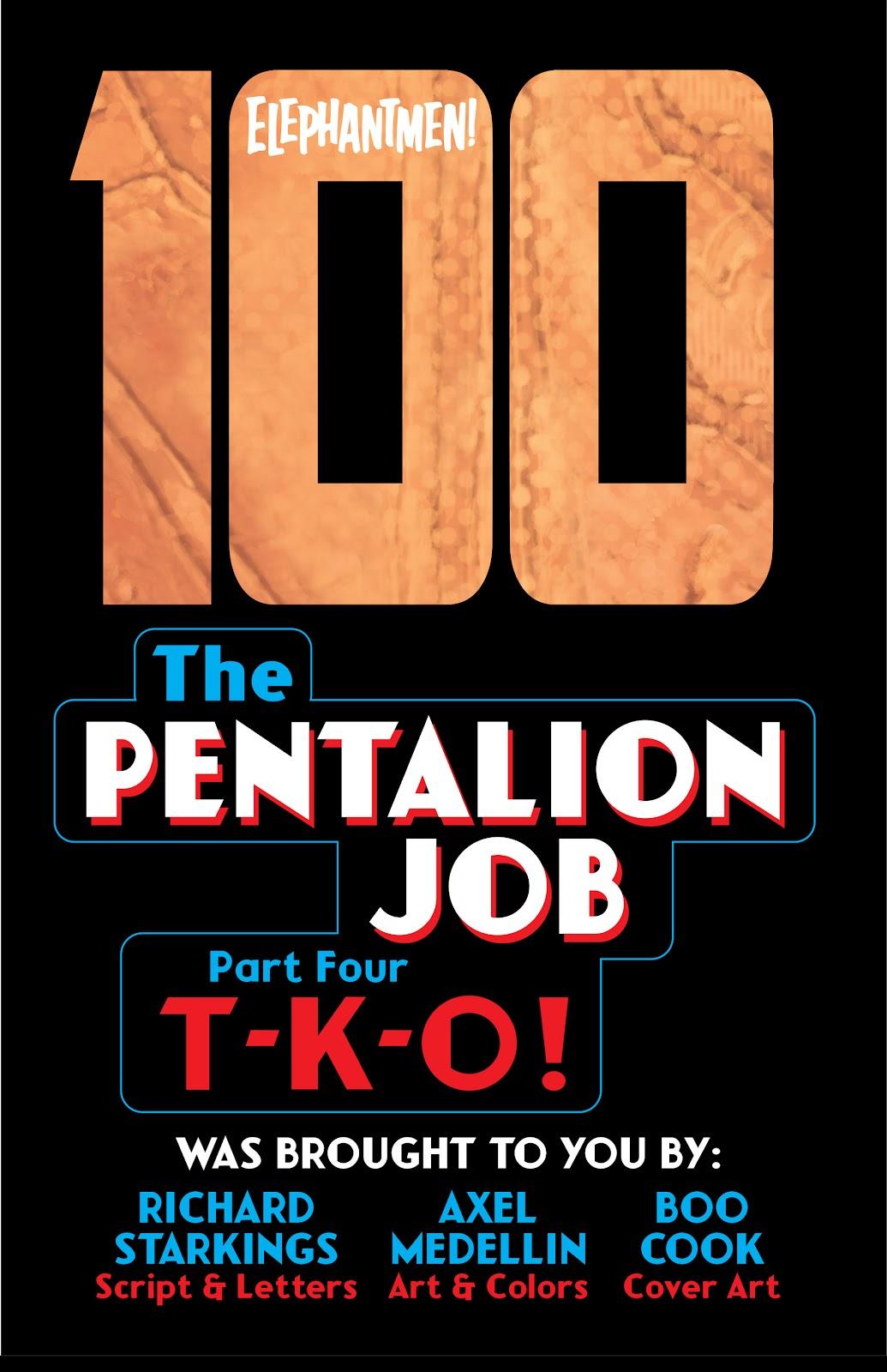 Read online Elephantmen 2261 Season Two: The Pentalion Job comic -  Issue # TPB - 94