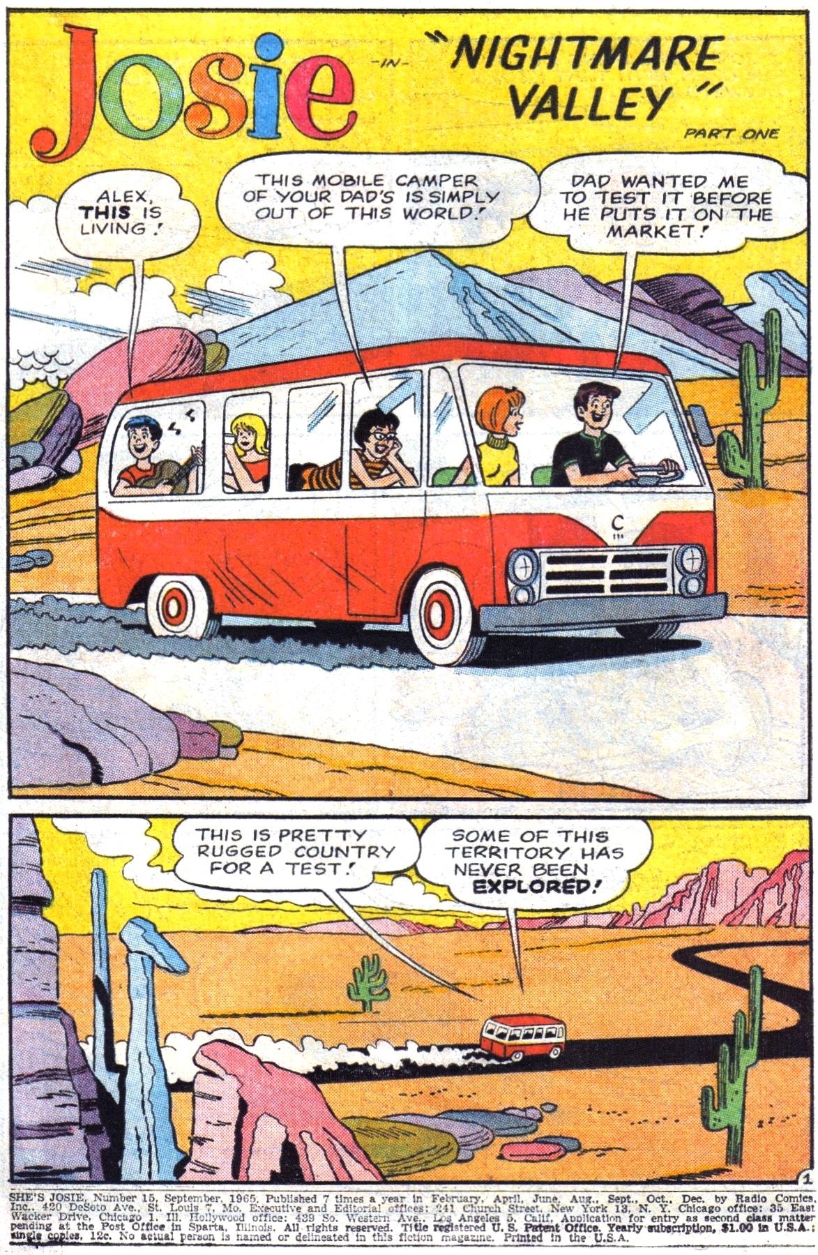 Read online She's Josie comic -  Issue #15 - 3